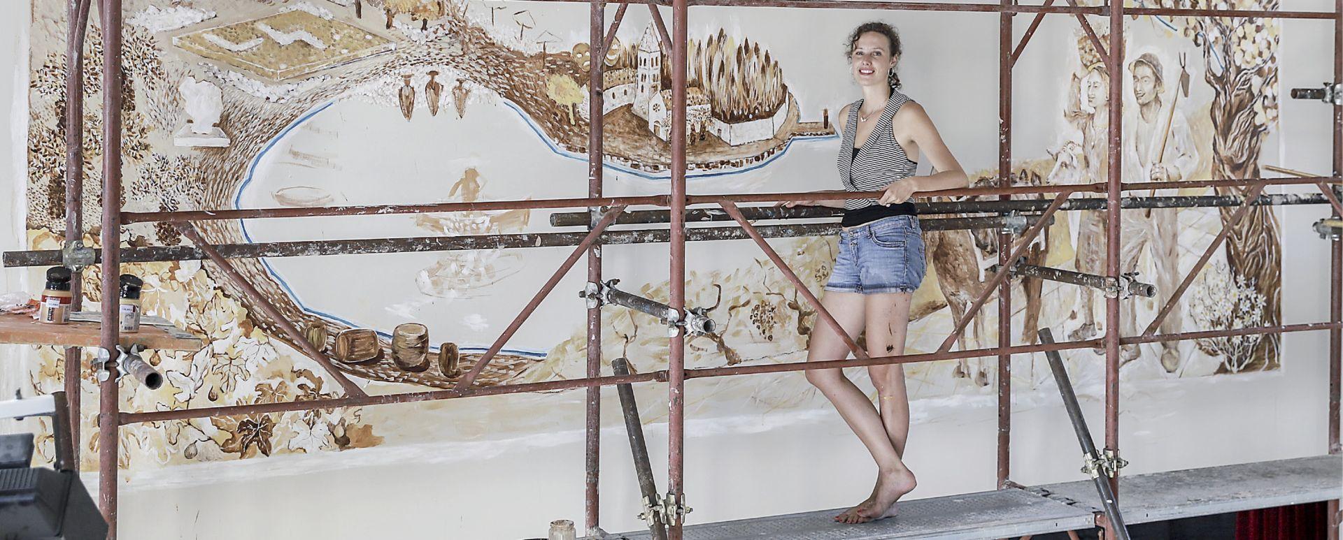 'Naslikala sam dva i pol tisućljeća povijesti grada Visa'