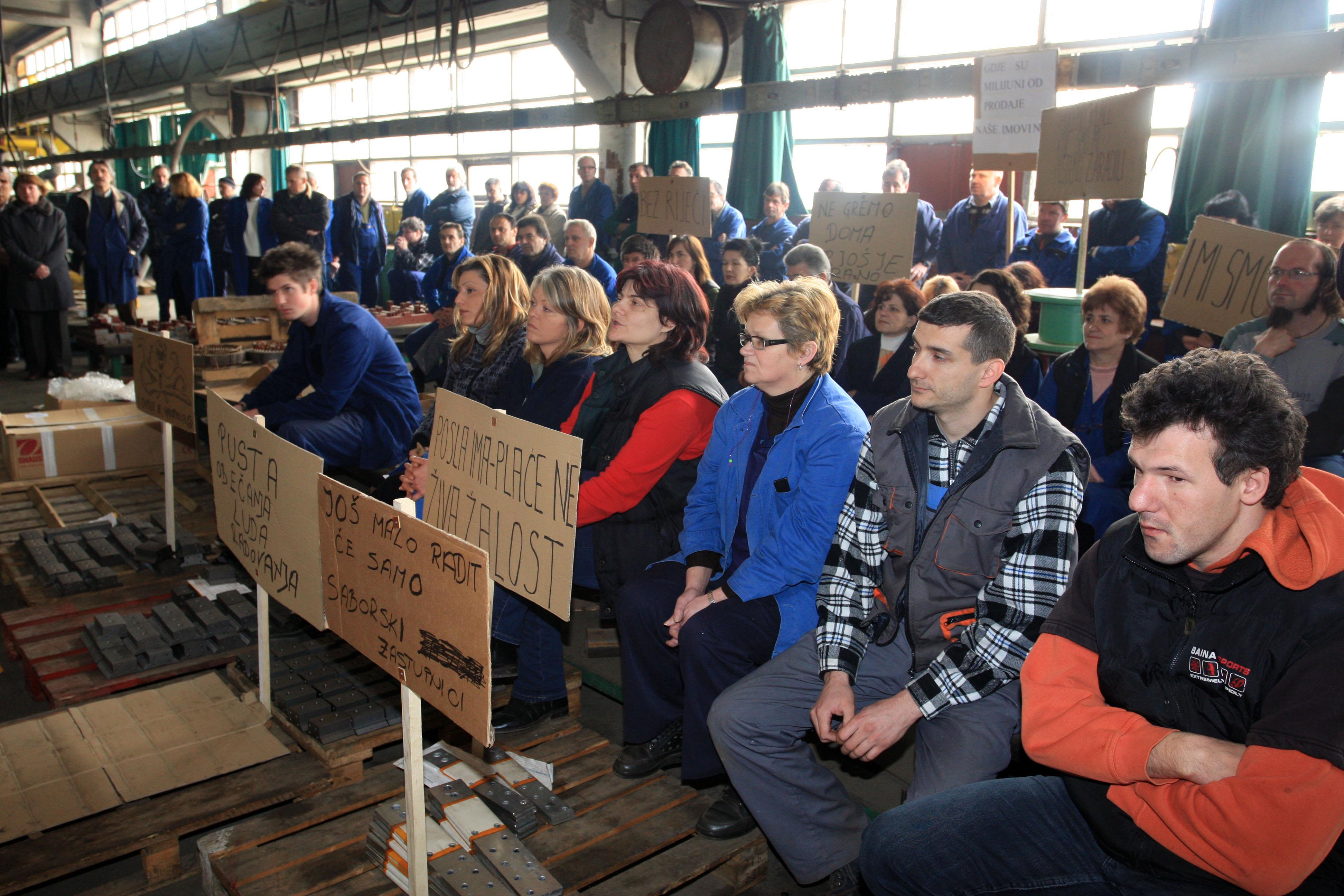 U srijedu opći štrajk radnika Brodogradilišta 3. maj i Uljanika