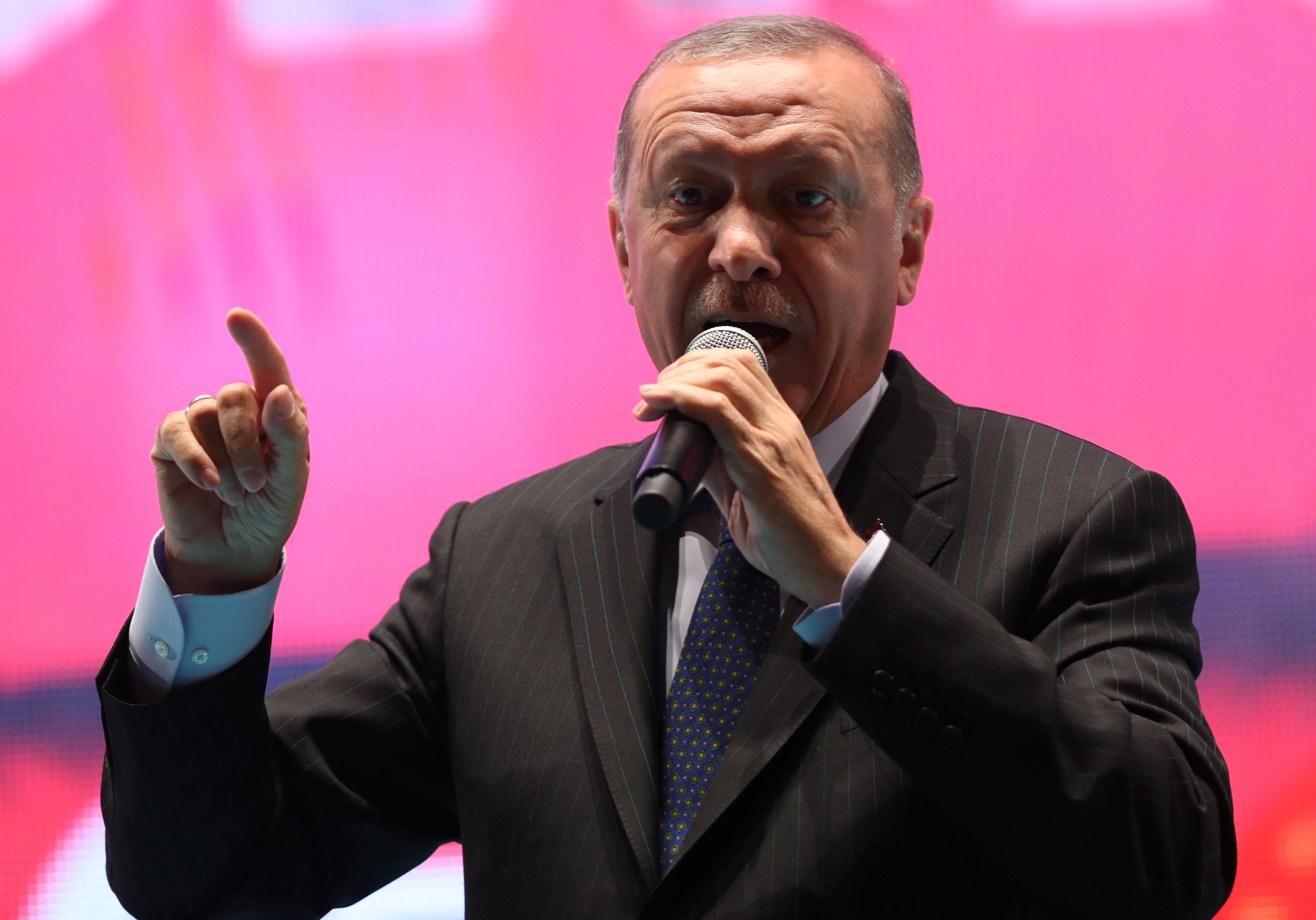 ERDOGAN 'Turska je pod ekonomskom opsadom'