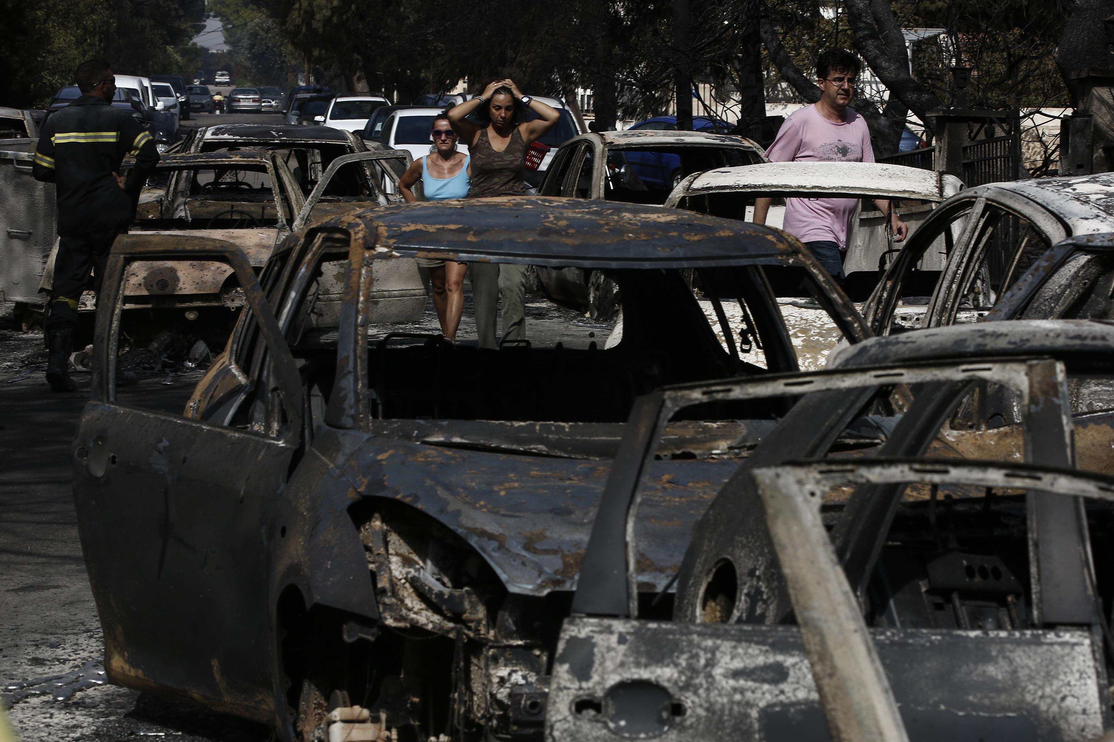 Požare u Grčkoj urokovala kombinacija vjetra i neodržavanja terena