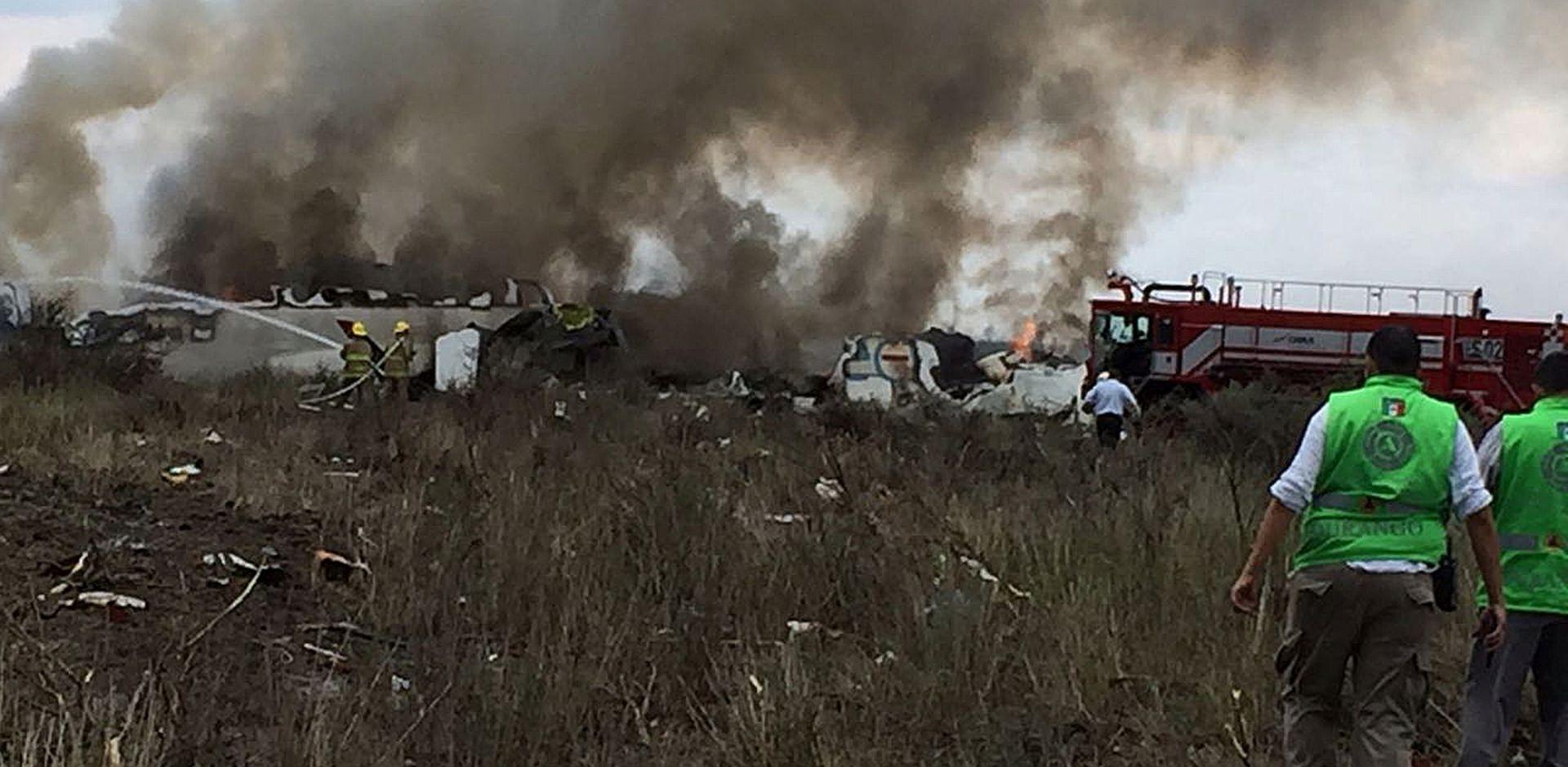U Meksiku pao zrakoplov, 85 ozlijeđenih