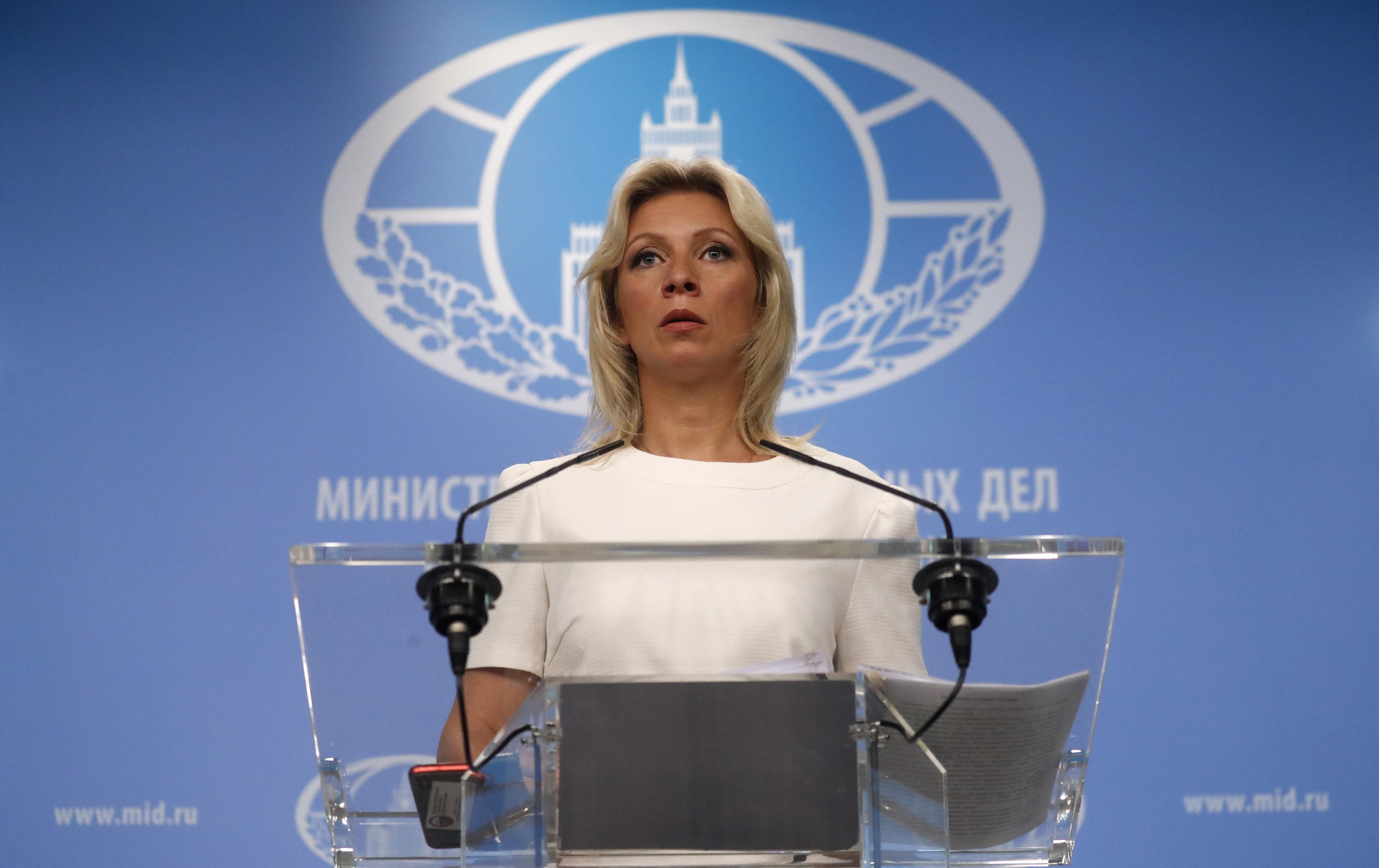 ZAKHAROVA 'Rusija radi na mjerama odmazde za američke sankcije'