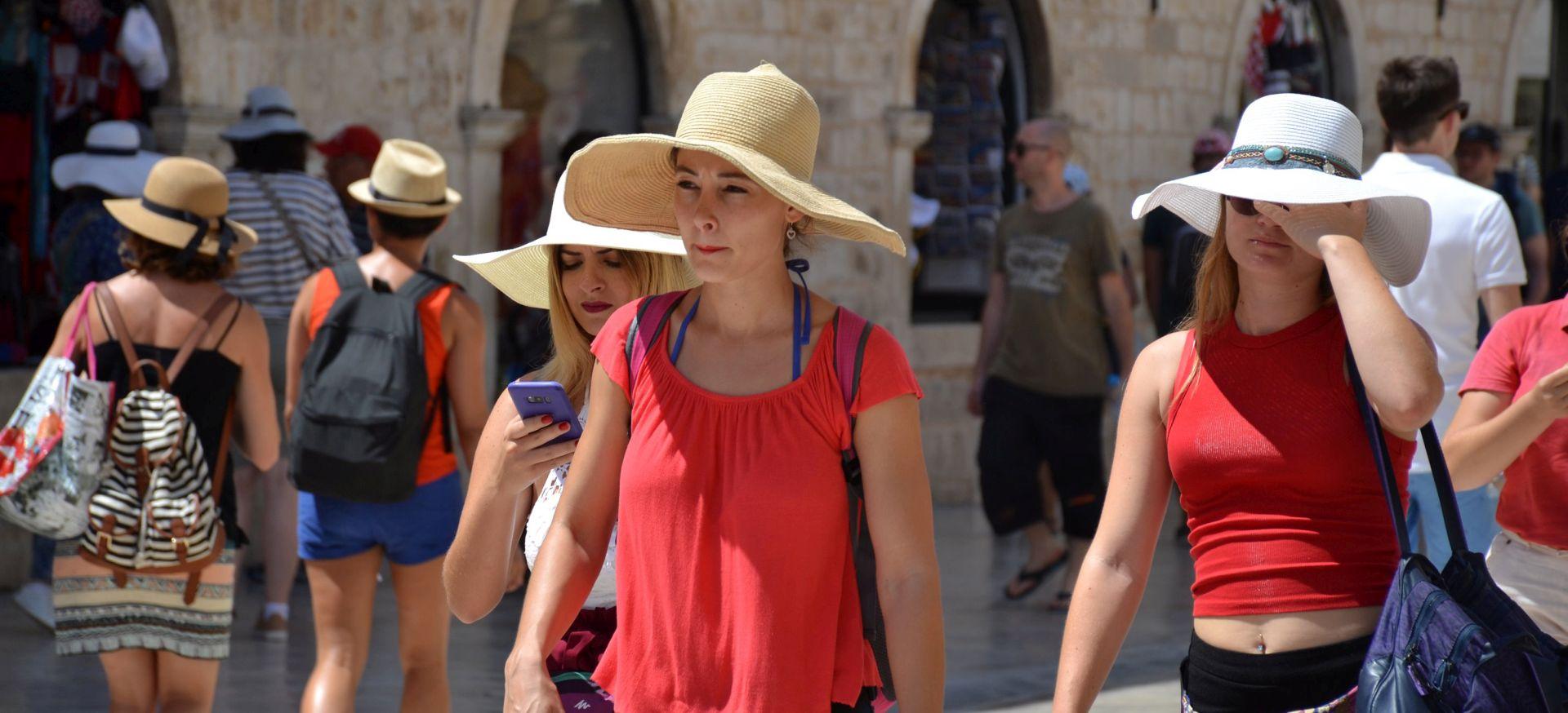 U prvih sedam mjeseci 6 posto više dolazaka i noćenja turista