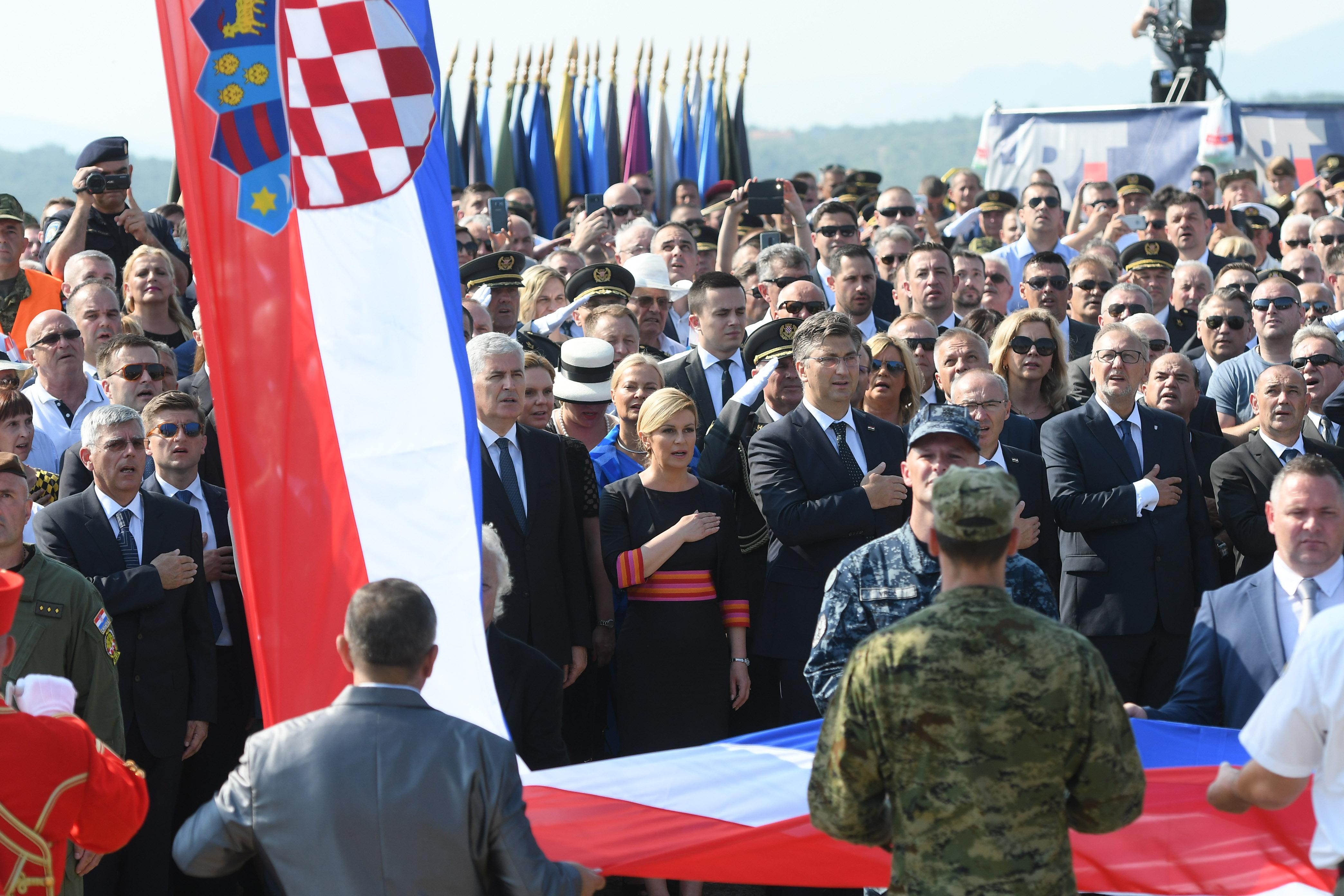 Proslava Oluje u Kninu prošla bez policijskih intervencija