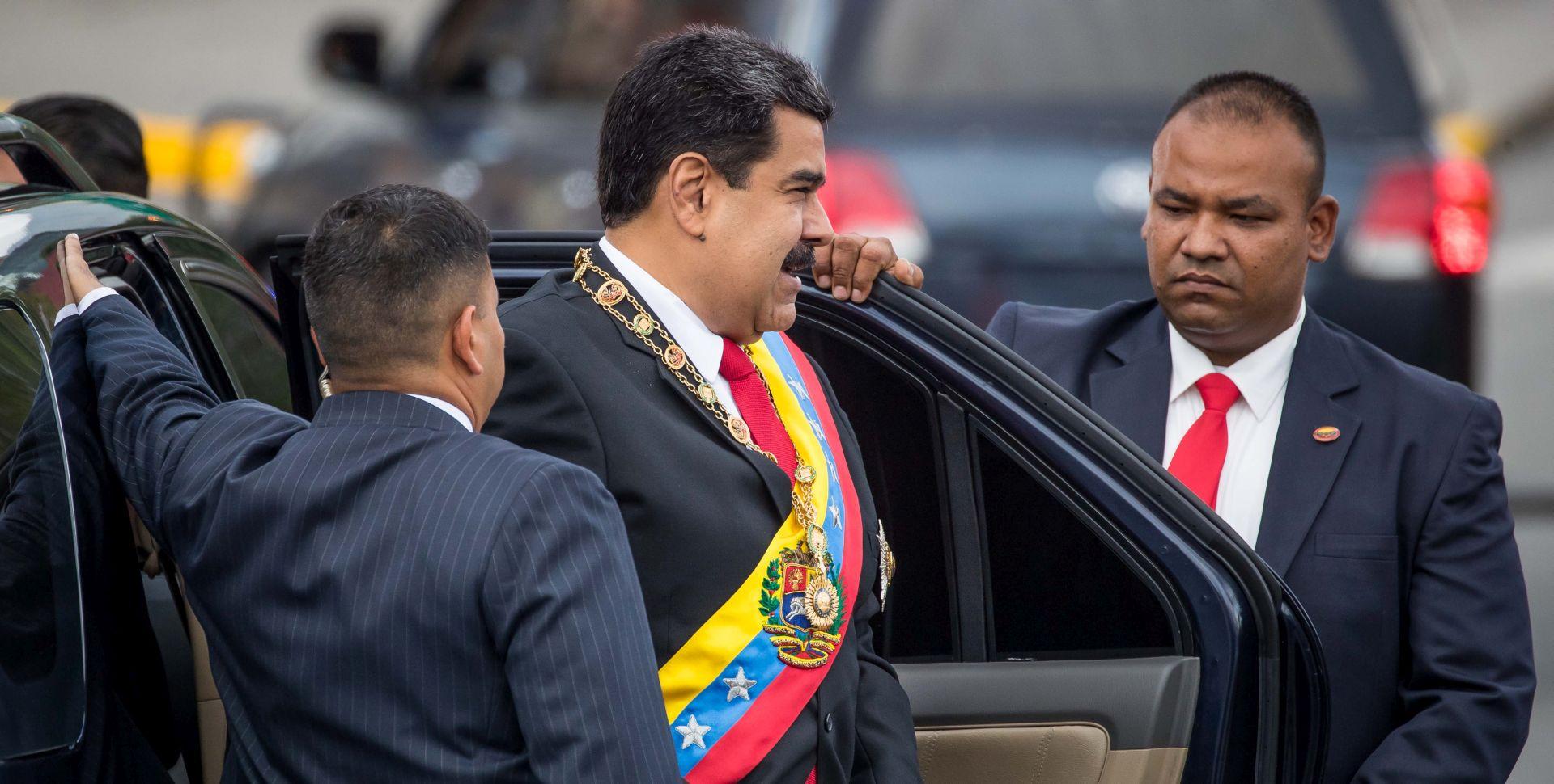 Maduro optužio čelnike oporbe za pokušaj atentata na njega
