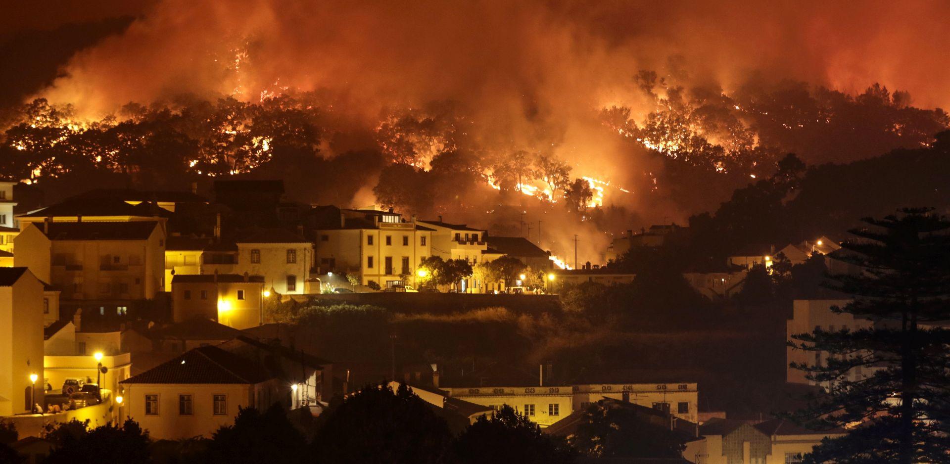 Najmanje 24 ozlijeđenih u šumskom požaru na jugu Portugala