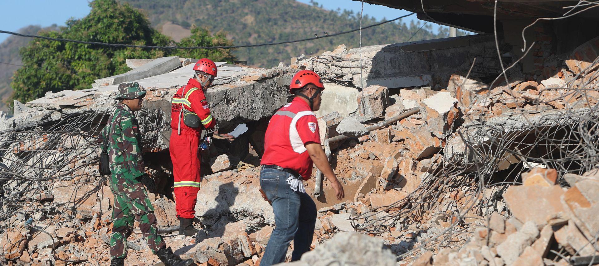 Broj žrtava potresa u Indoneziji popeo se na 131