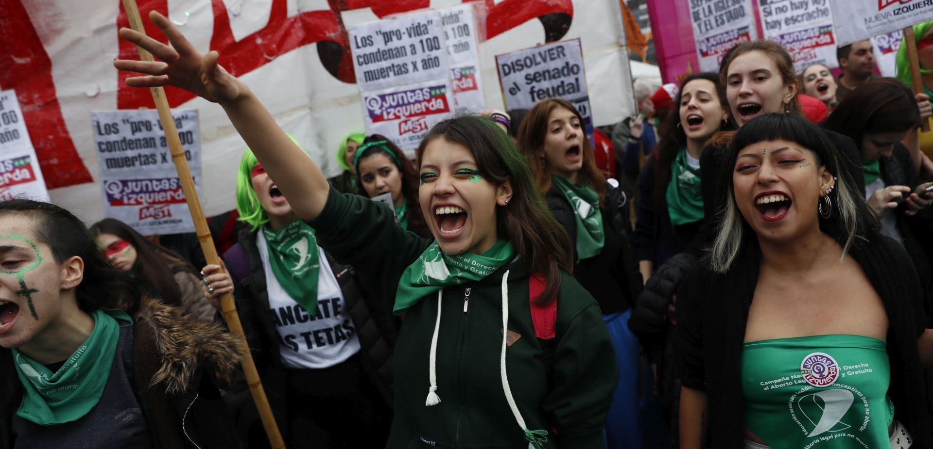 Argentnski Senat glasao protiv legalizacije pobačaja