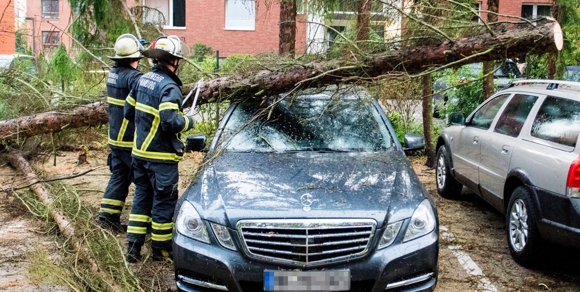 Oluja poharala Njemačku, kraj vrućinama se ne nazire