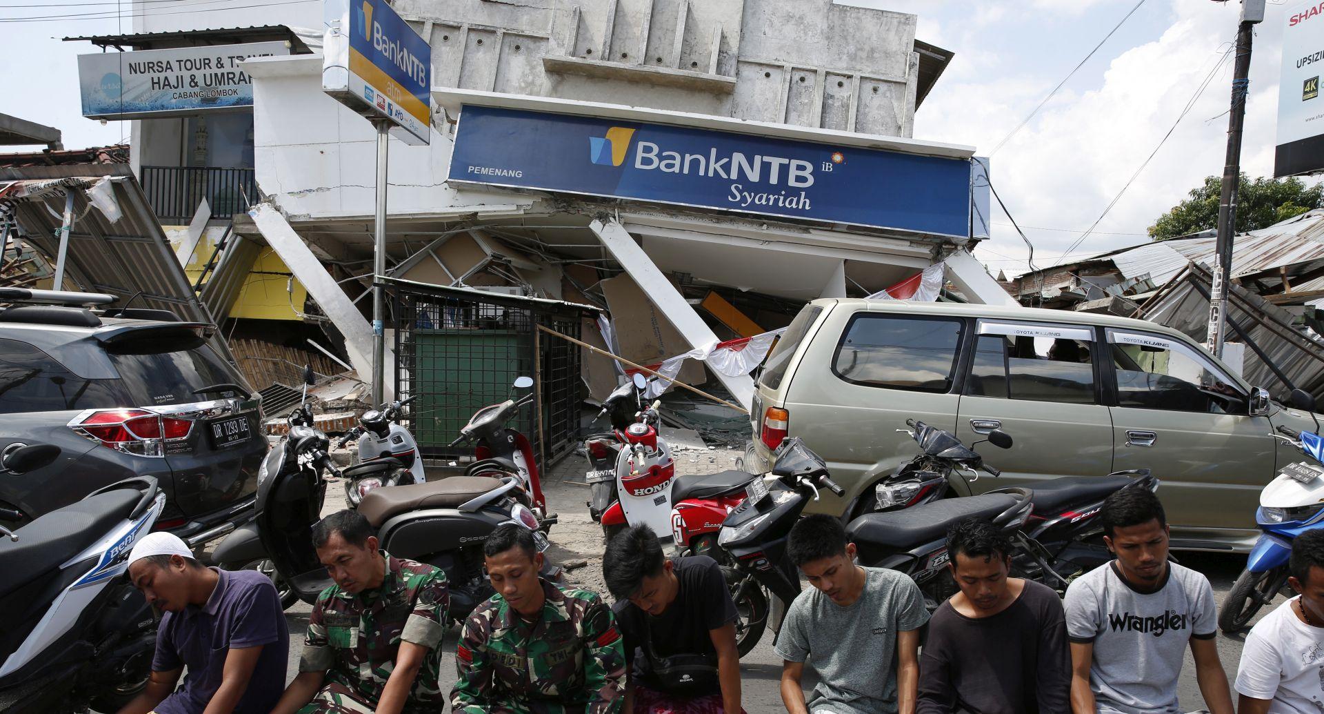 LOMBOK Novi potres magnitude 6,9