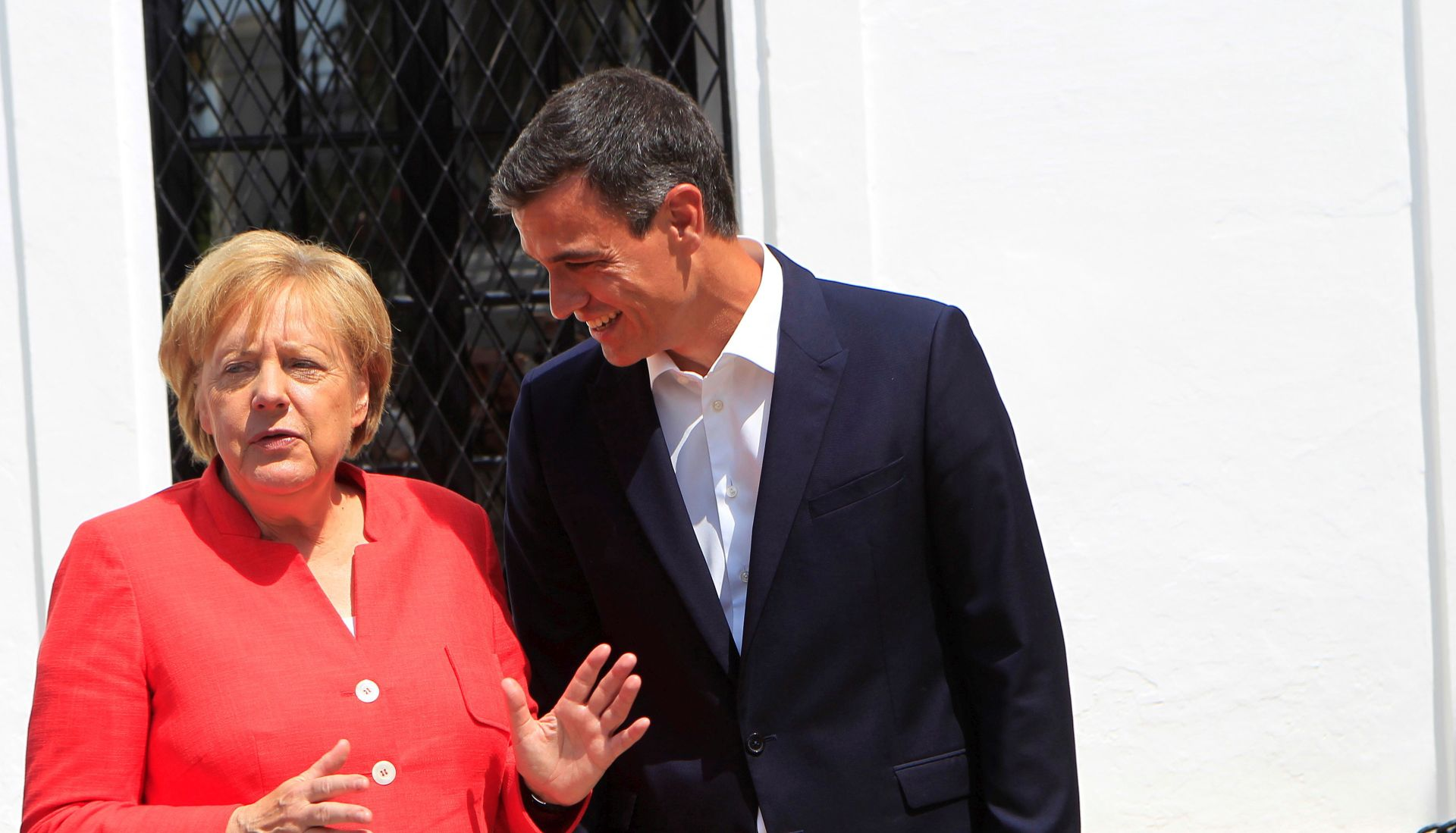 Merkel u Španjolskoj u neformalnom posjetu premijeru Sanchezu