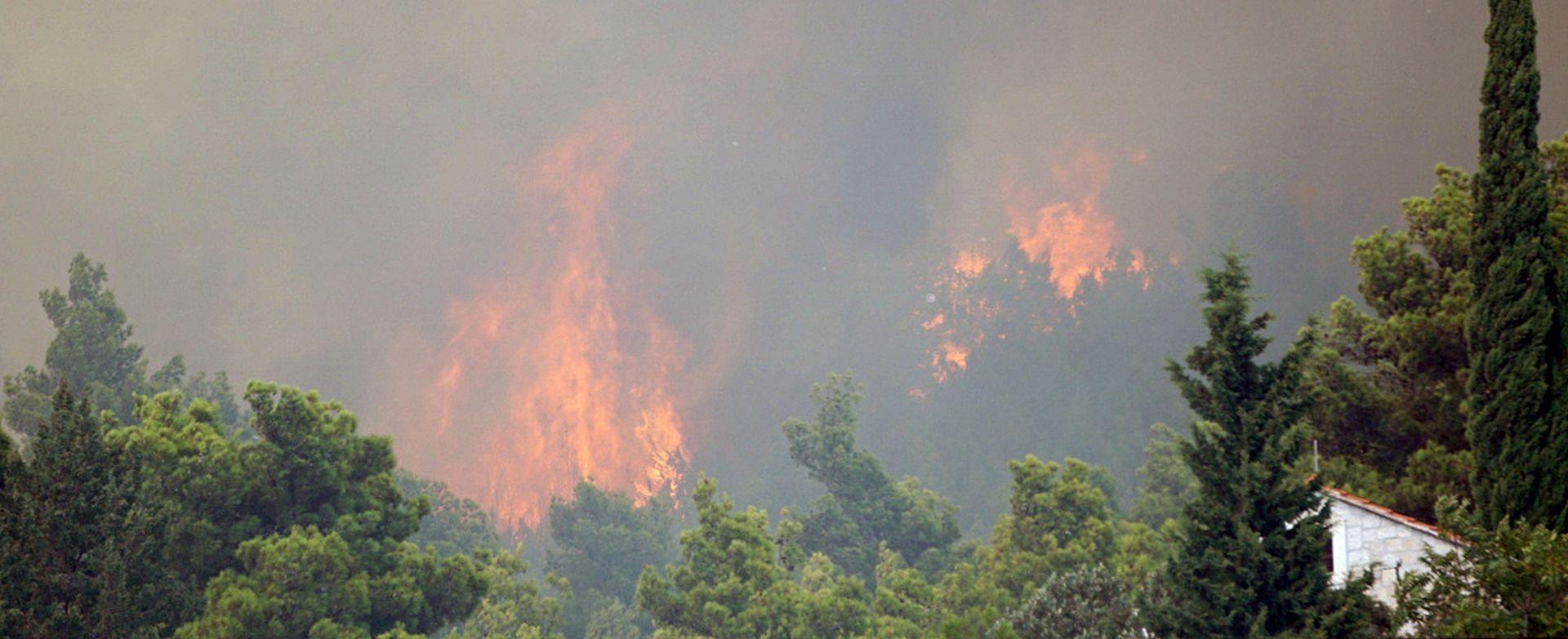Uzrok požara u Lokvi Rogoznici otvoreni plamen ili žar