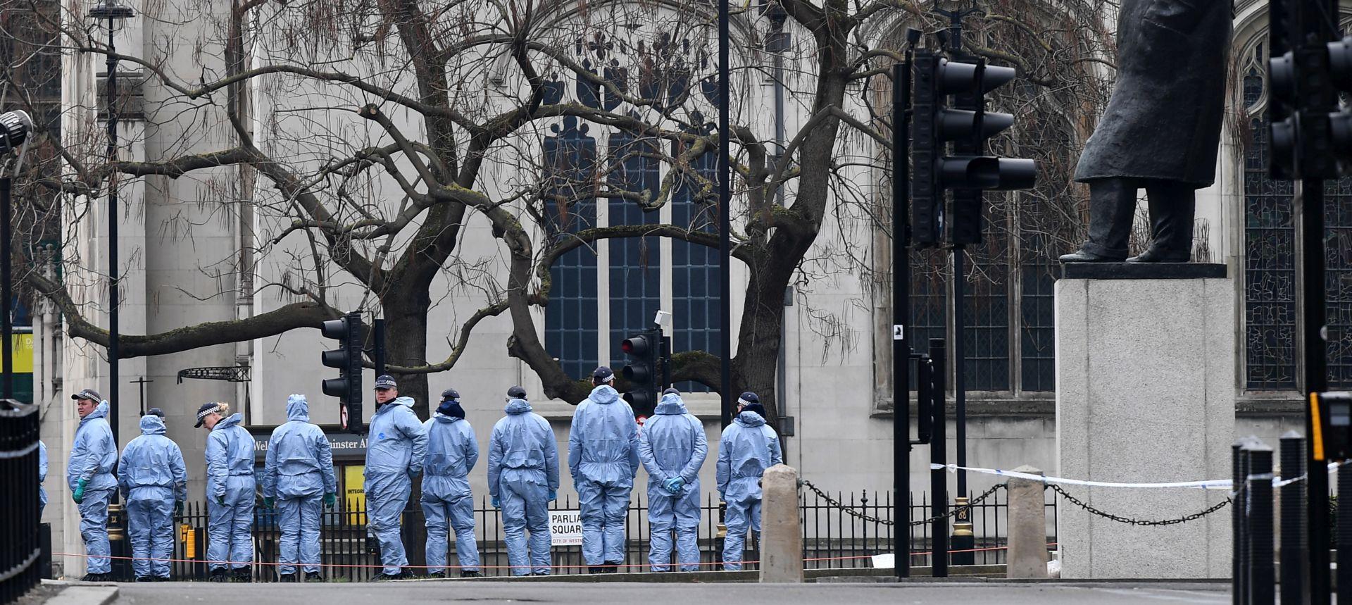 Napad na parlament u Londonu vodi se kao terorizam, uhićeni ne surađuje