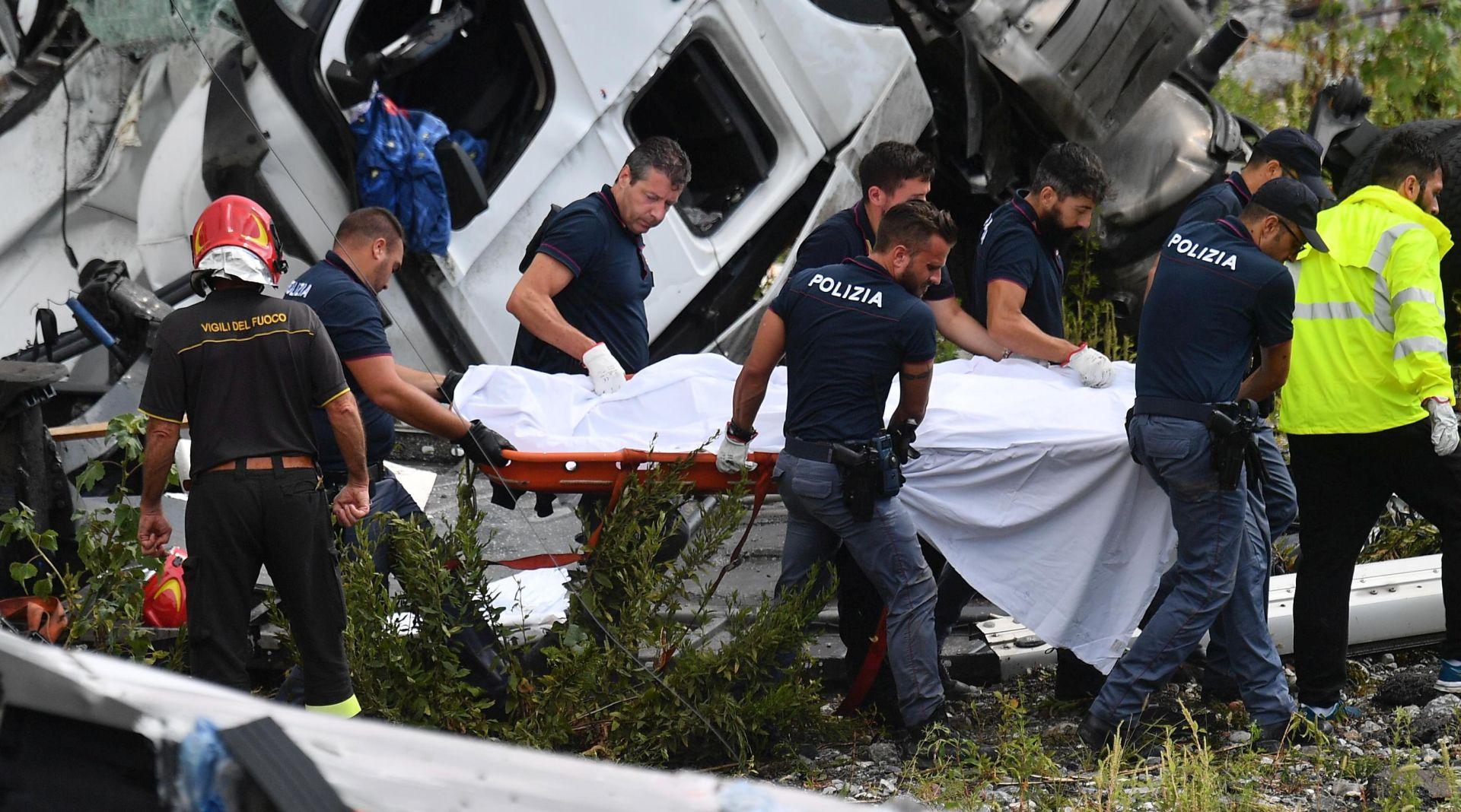 GENOVA Broj mrtvih popeo se na 42, potraga i dalje traje