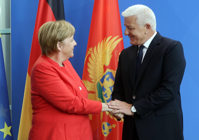 Merkel pohvalila napredak Crne Gore u pregovorima s EU