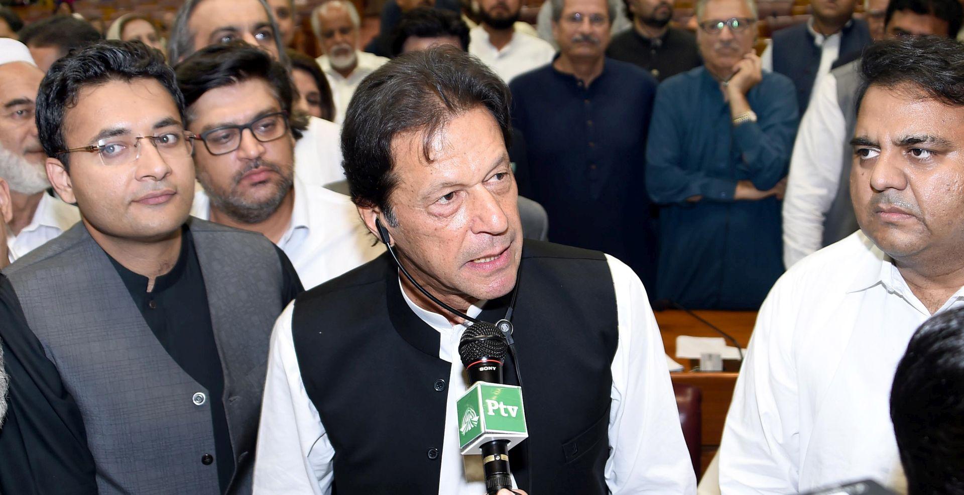 Khan poziva svjetske čelnike da posvete pažnju pitanju Kašmira