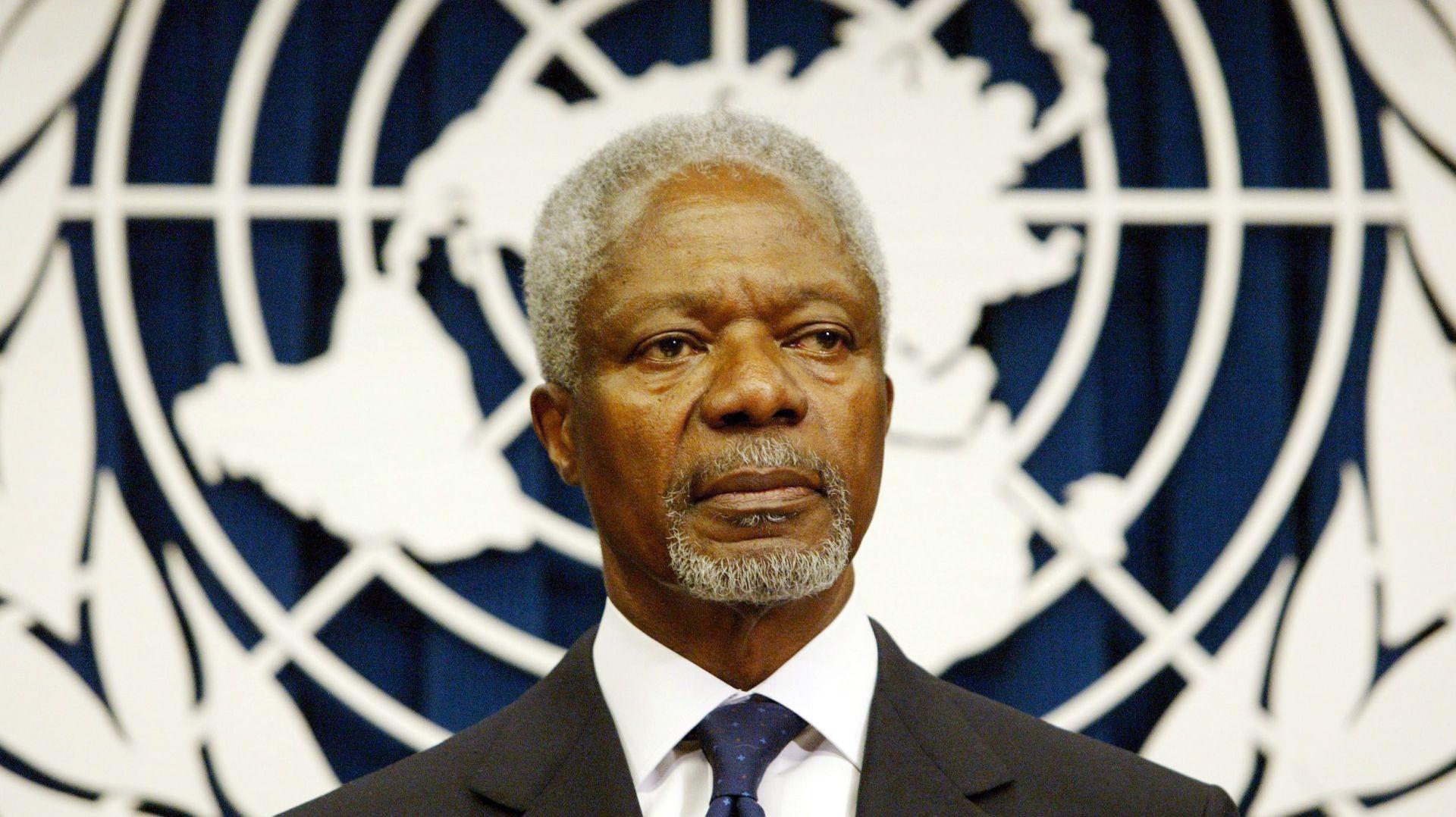 Preminuo bivši glavni tajnik UN-a Kofi Annan