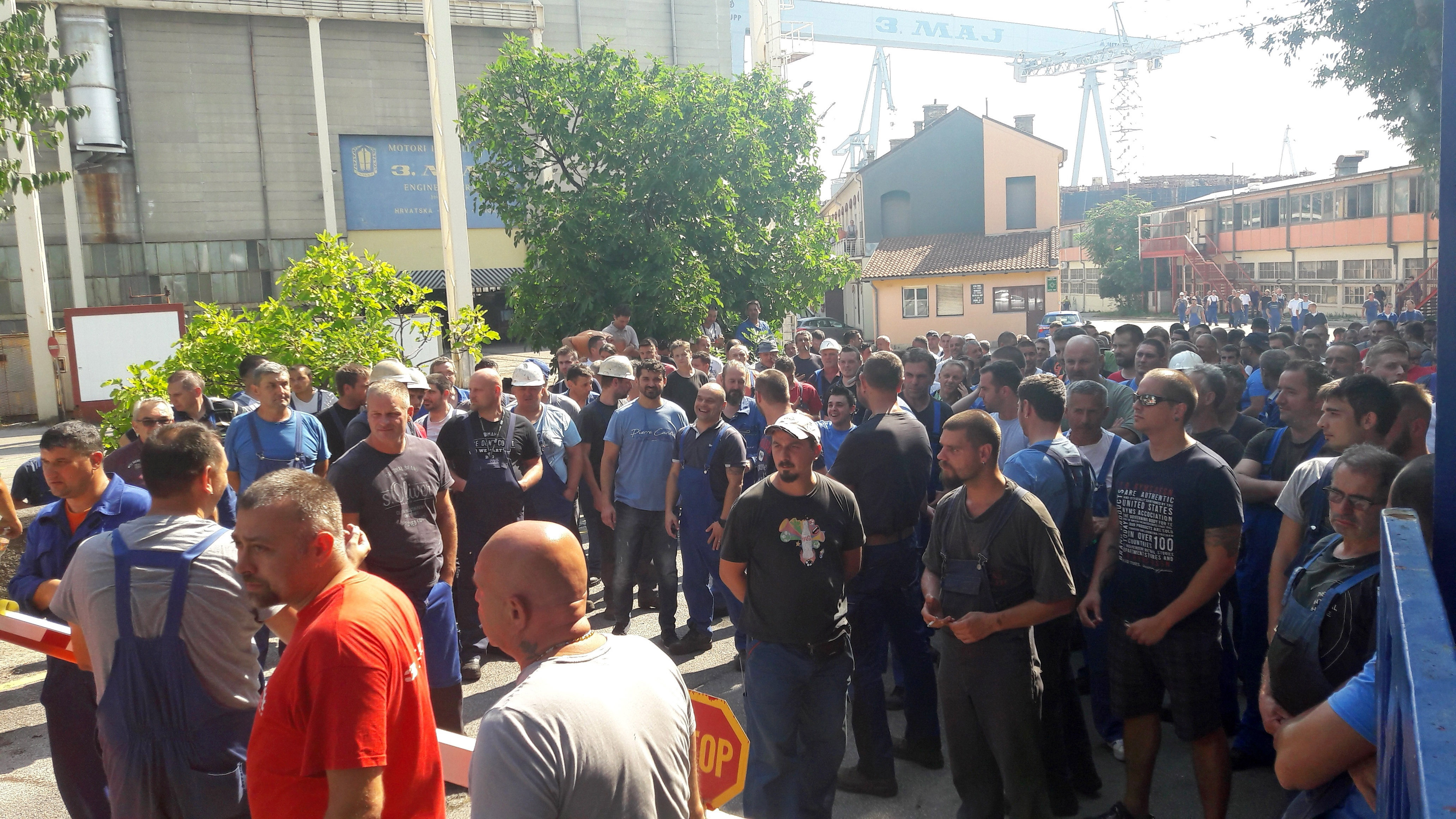 Četiristo radnika 3. maja prijavilo se za odlazak u Zagreb