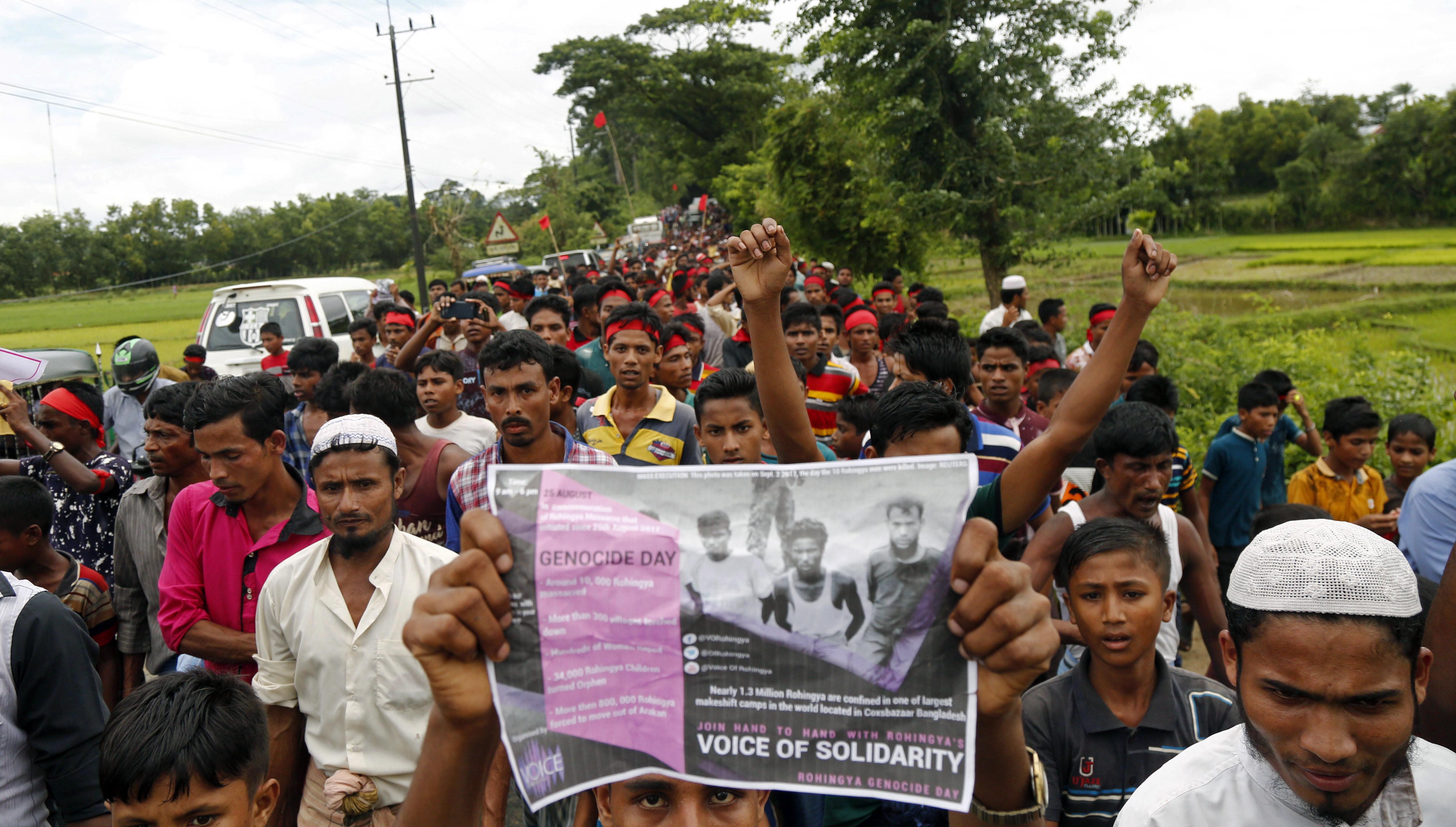 Pompeo osudio etničko čišćenje Rohindža