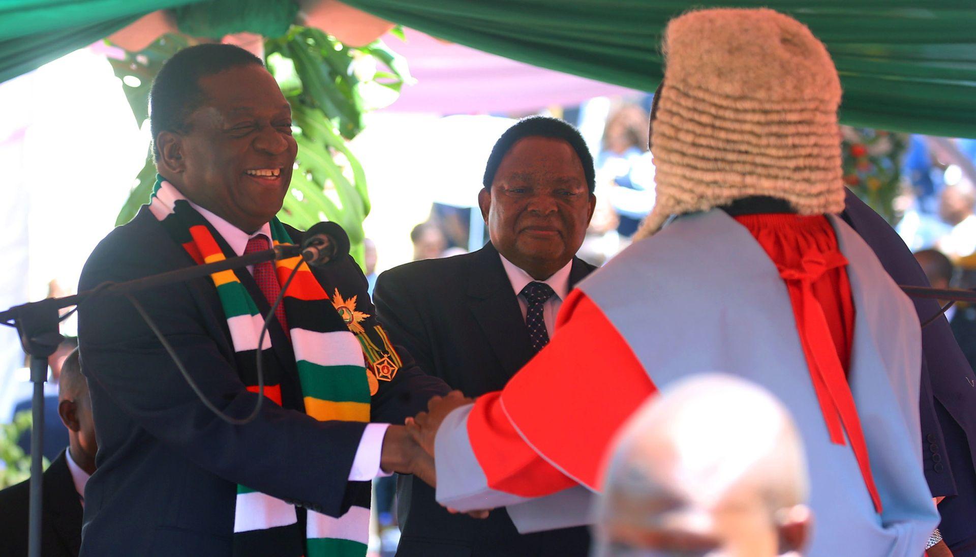 Prisegnuo novi predsjednik Zimbabvea
