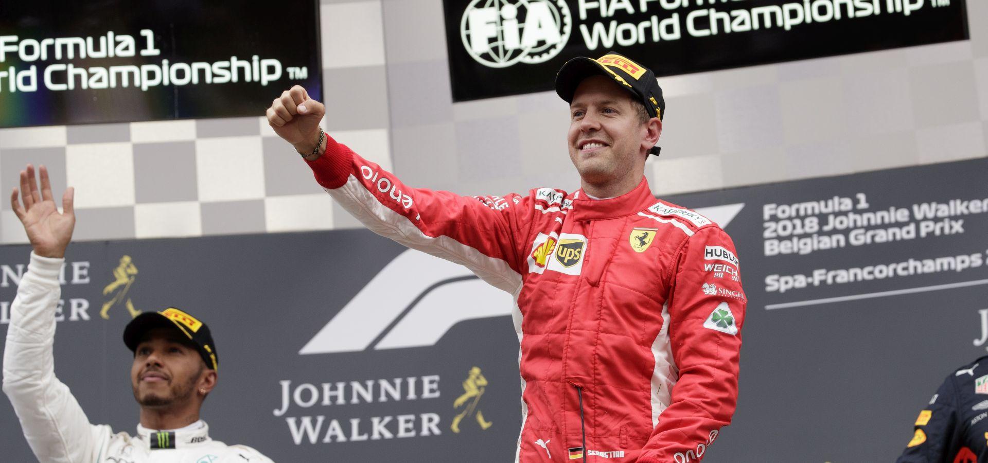 FORMULA 1 Vettel slavio na VN Belgije