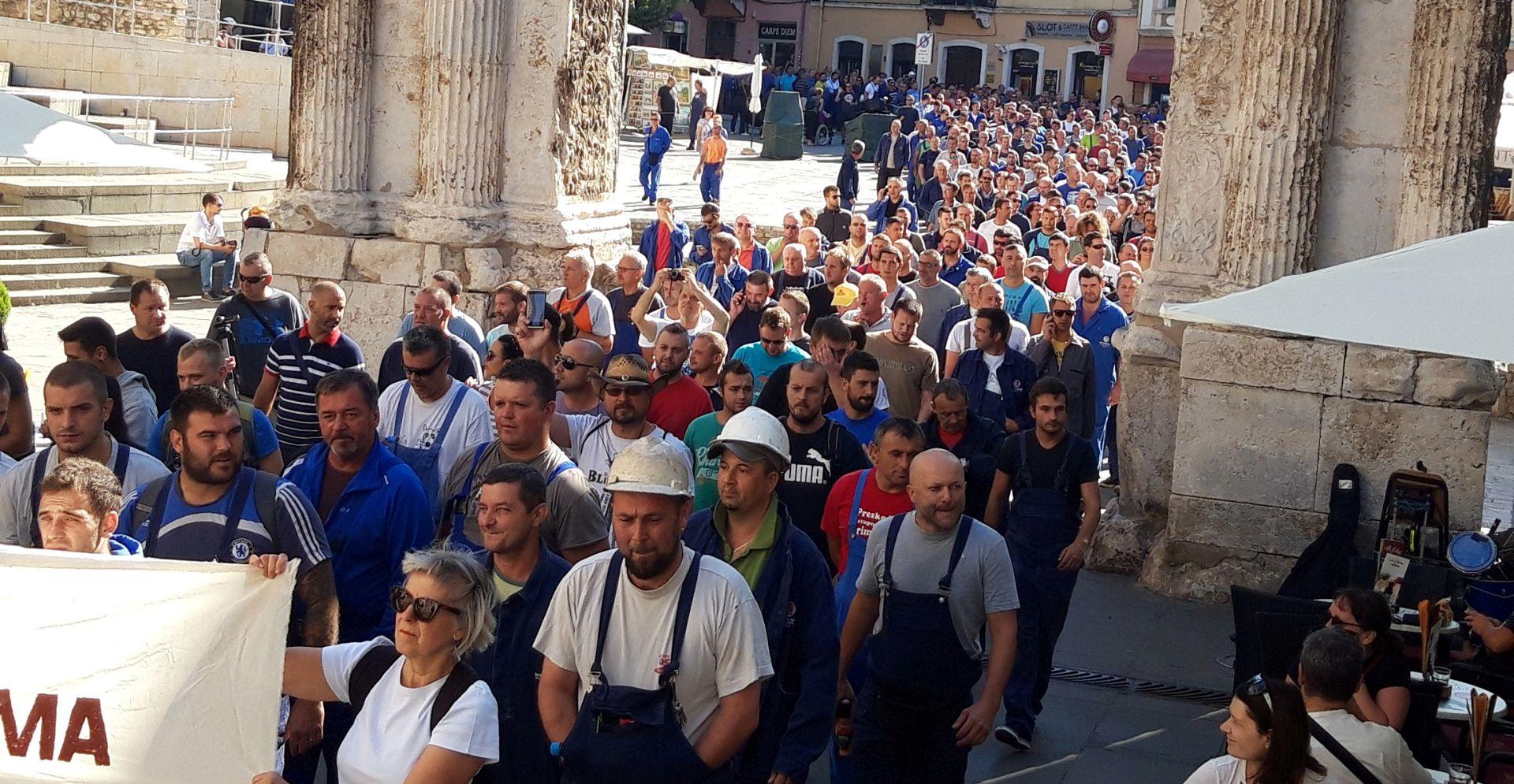 Radnici Uljanika opet na ulicama Pule