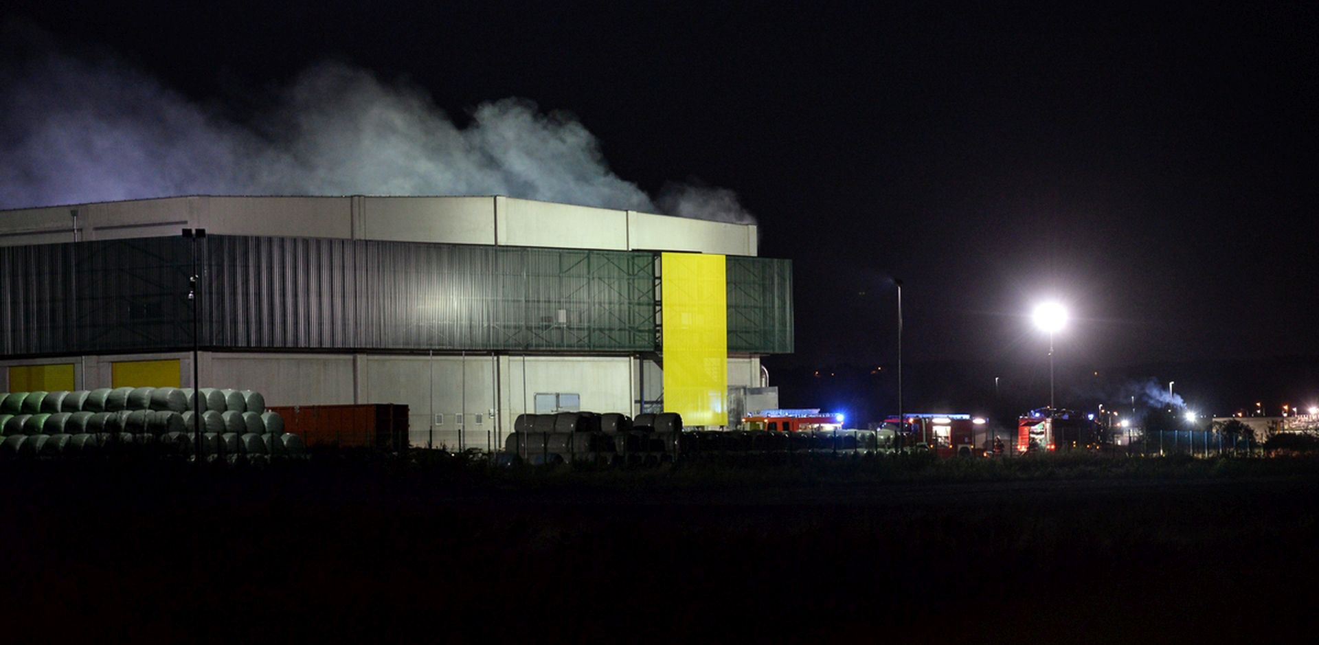VARAŽDIN Požar u postrojenju za mehaničku obradu otpada