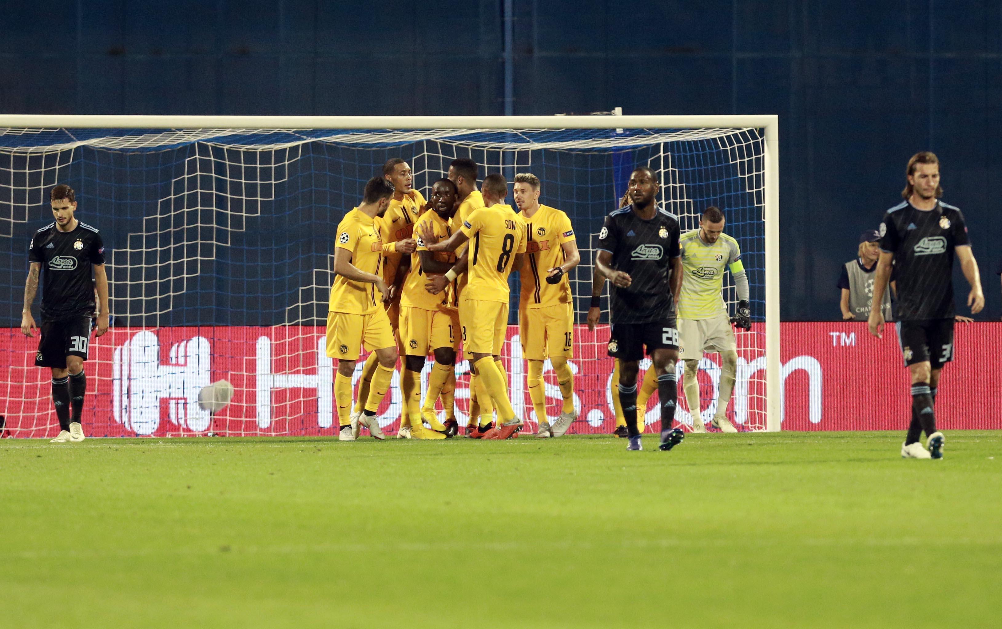 Dinamo bez Lige Prvaka
