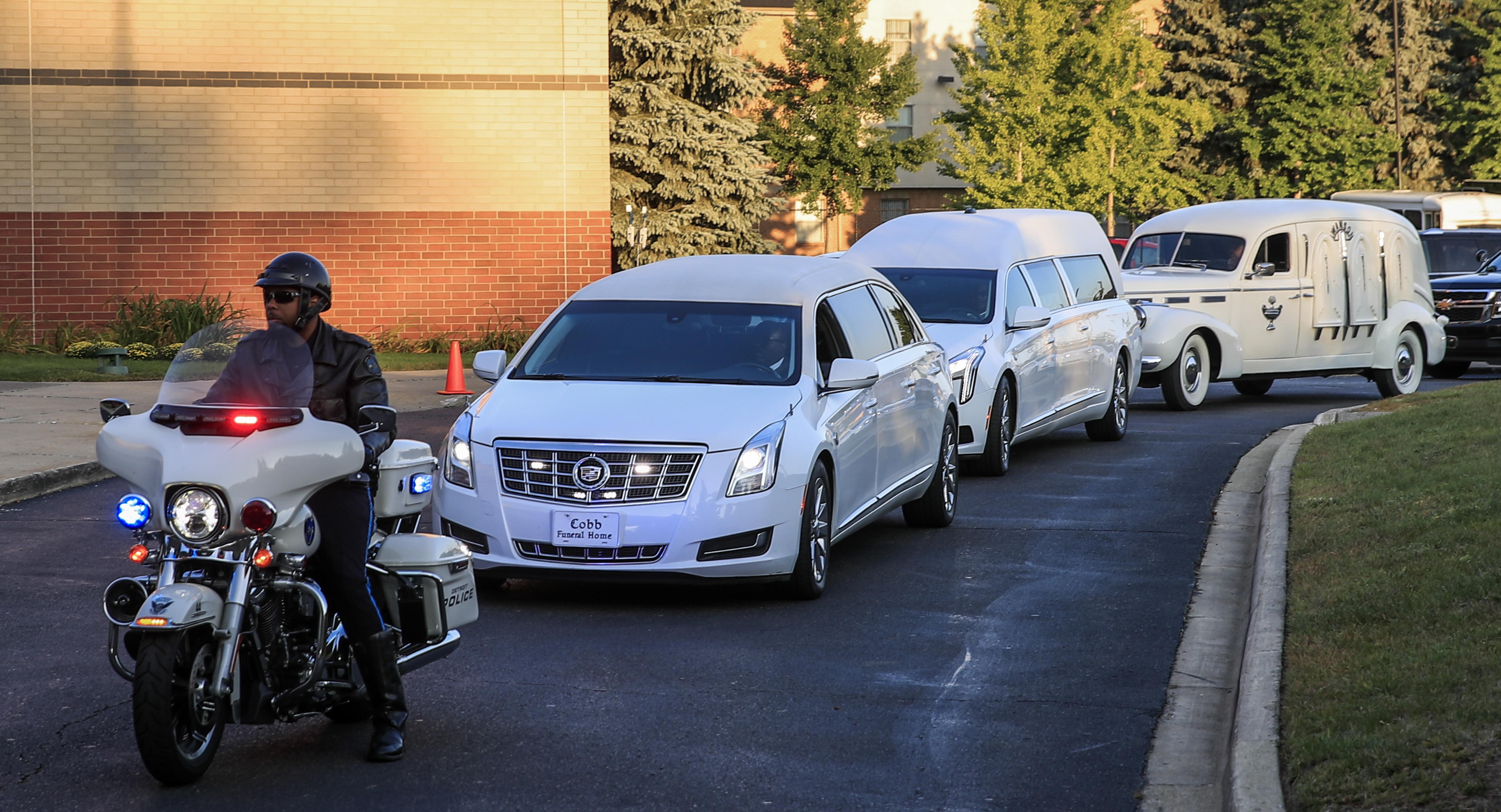 Veličanstveni pogreb Arethe Franklin