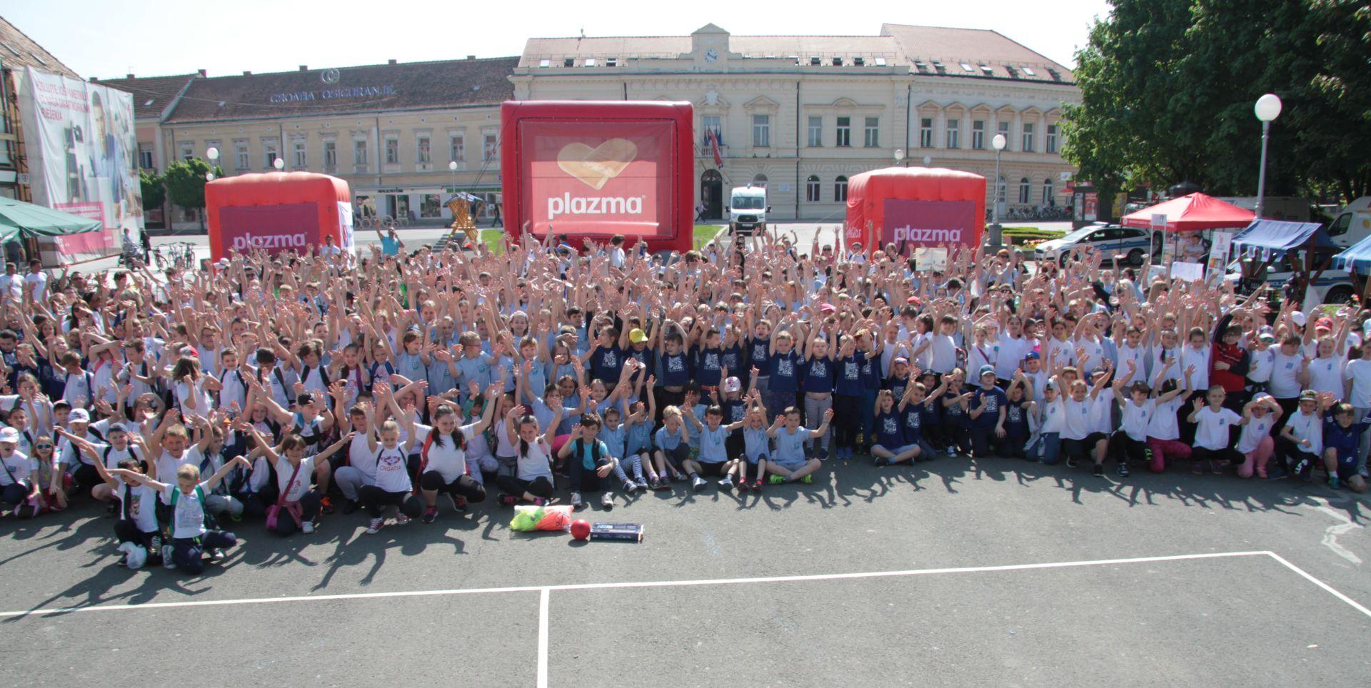 Svečano zatvaranje Sportskih igara mladih u Splitu