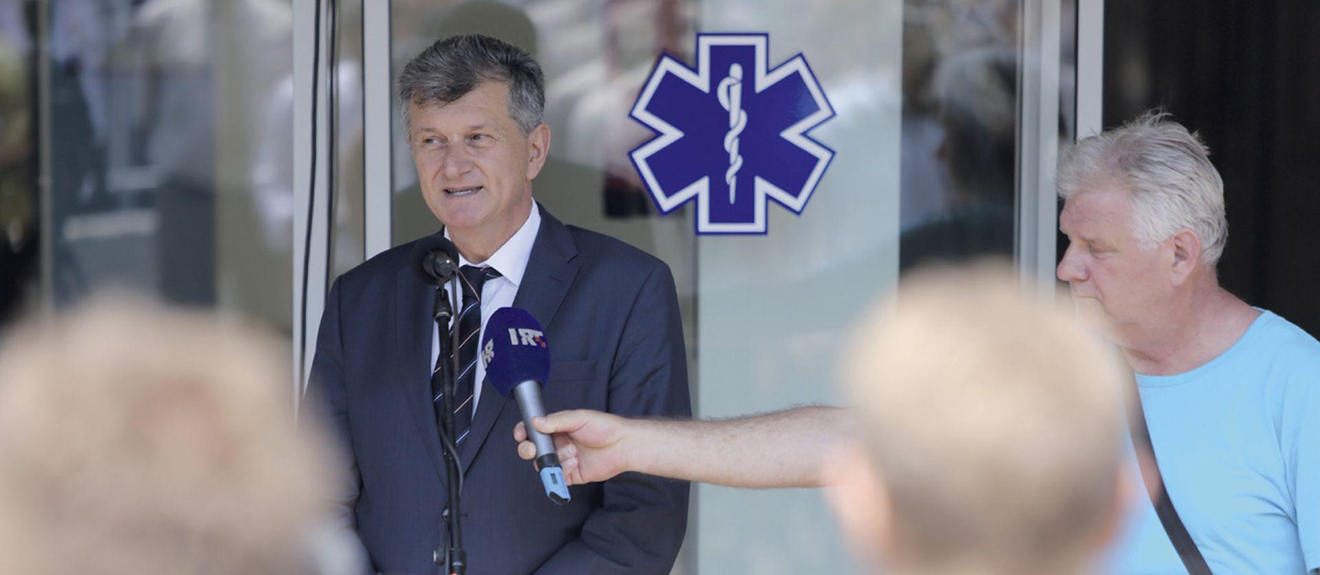 'Ako ne dovrše bolnicu, Kujundžić Vlada imat će problema sa Splitom'