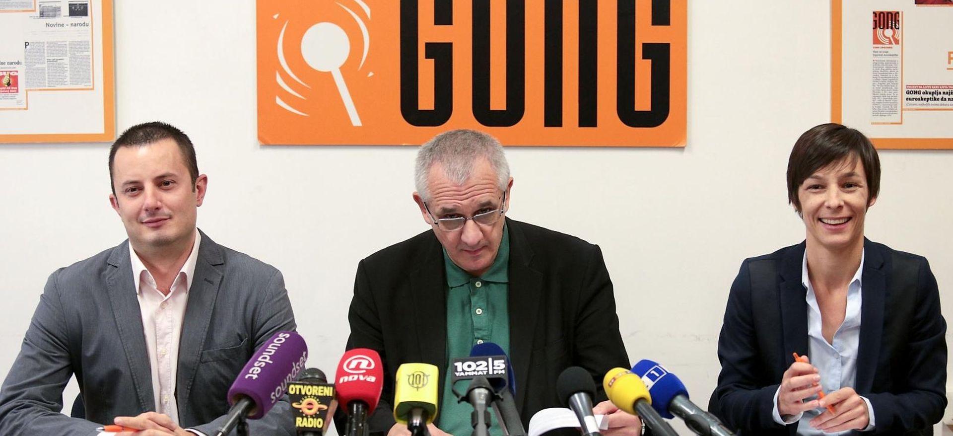 """GONG """"Andrej Plenković treba podnijeti ostavku"""""""