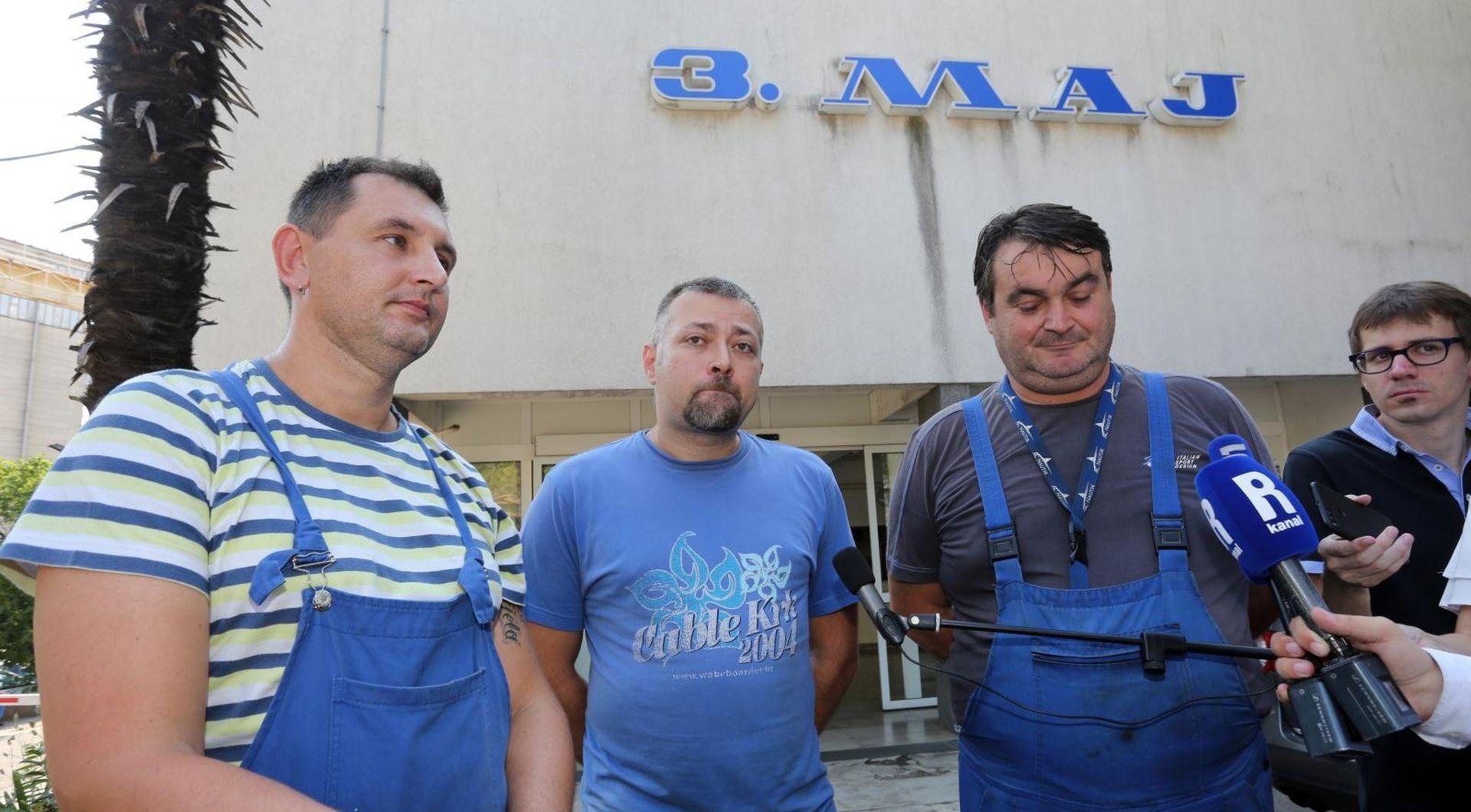 """BUČANAC """"Štrajk u 3. maju se nastavlja"""""""