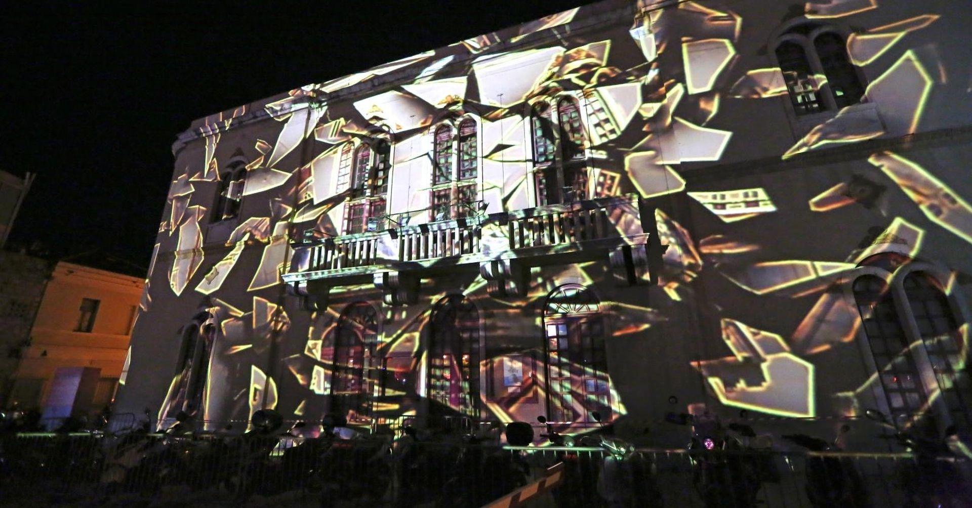 FOTO: Svjetlosnim instalacijama otvoren Changer festival