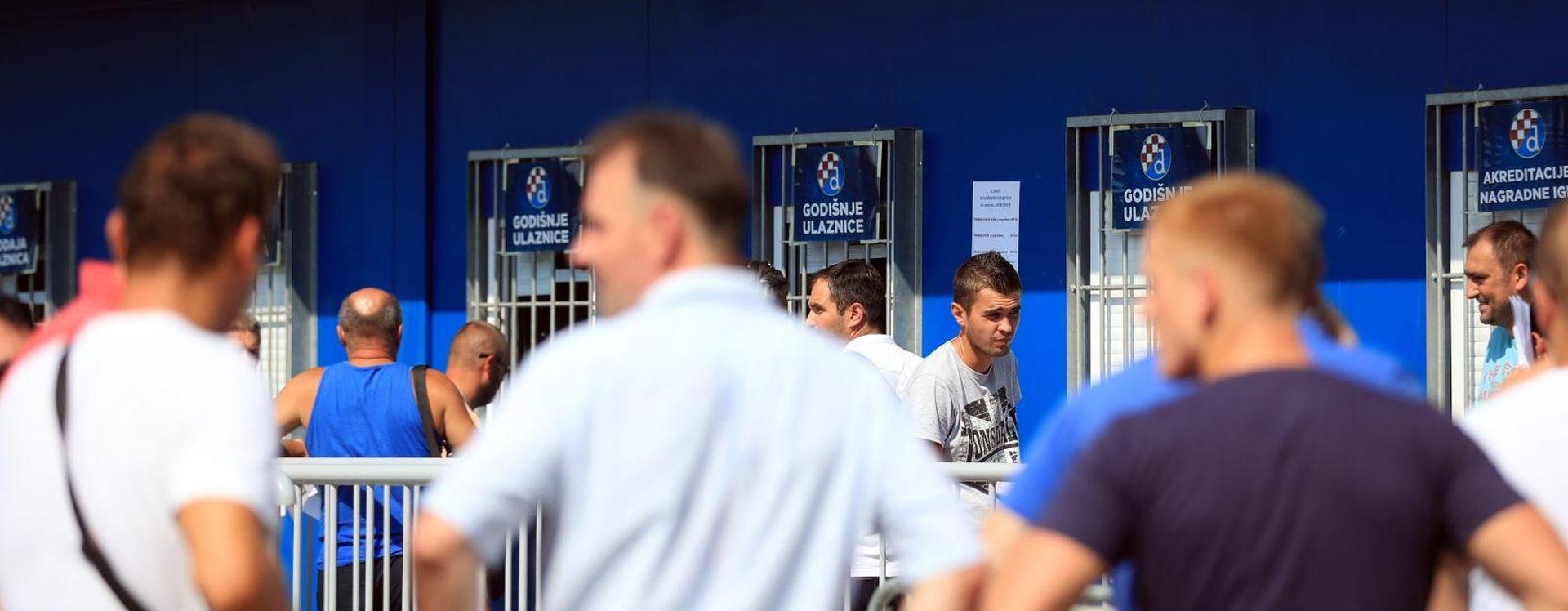 UTAKMICA ZA LIGU PRVAKA Zagrepčani nahrlili na Dinamove blagajne