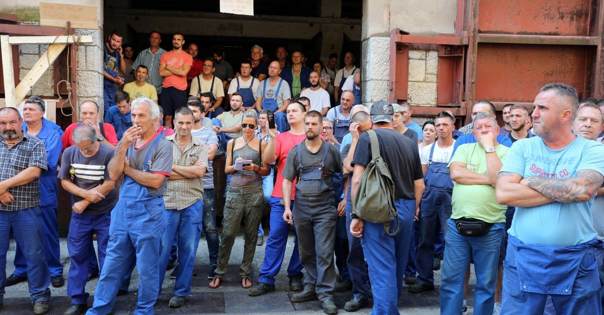 Nastavljen štrajk u 3. maju, radnici se pripremaju za prosvjed u Zagrebu