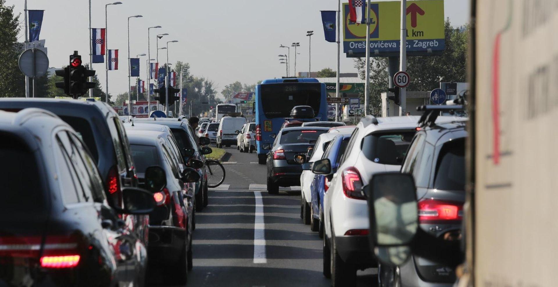 FOTO: Na zagrebačkoj obilaznici kolone čak 5 kilometara