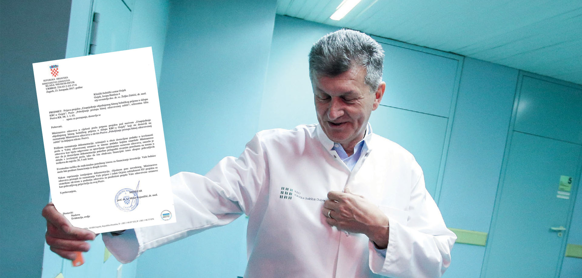 EKSKLUZIVNO Zbog Kujundžićeve odluke bolnice ostale bez milijuna za hitni prijem