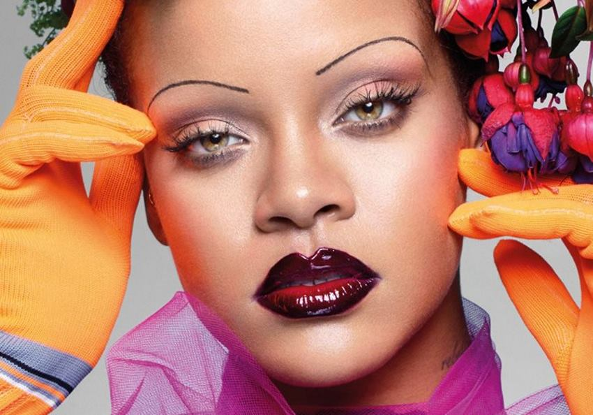 VIDEO: Rihanna prkosi make-up trendovima