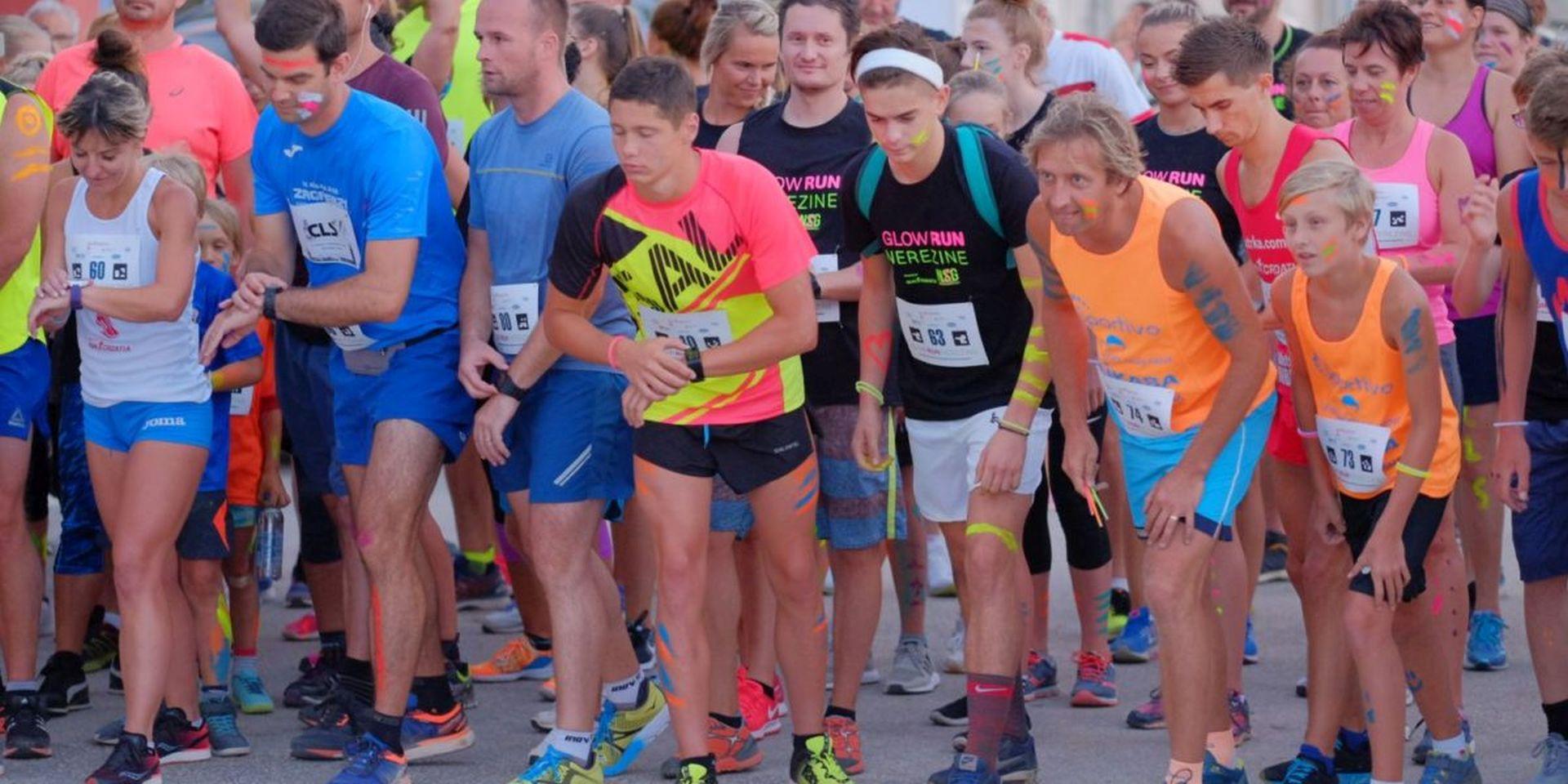 GLOW RUN NEREZINE Trkači iz 10 zemalja na jednoj od najljeprših utrka na Jadranu