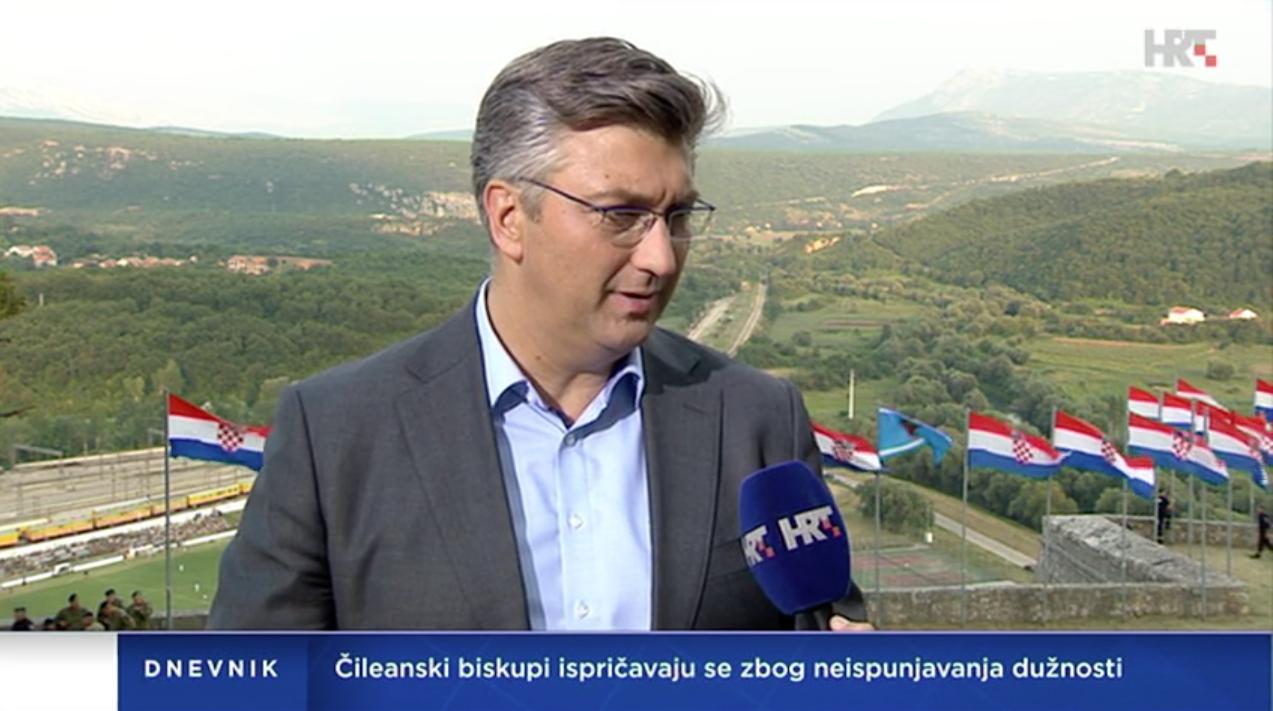"""PLENKOVIĆ """"Želimo da se srpska manjina u Hrvatskoj dobro osjeća i radimo na tome"""""""
