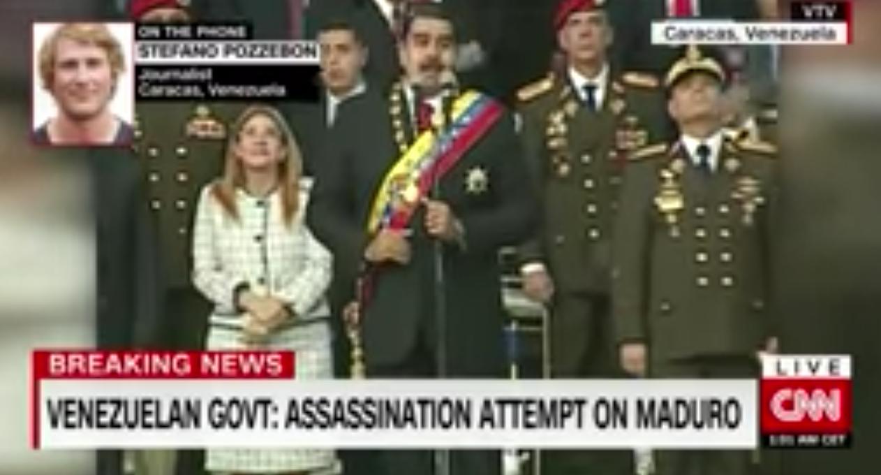 VIDEO Pokušan atentat dronovima na venezuelanskog predsjednika Madura