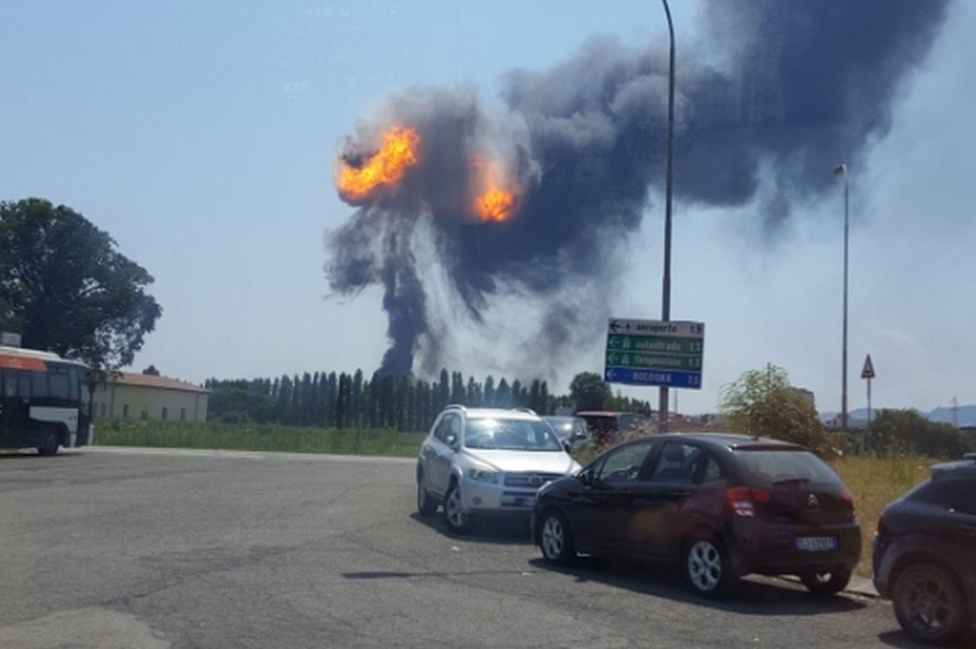 Eksplozija kod aerodroma u Bologni, najmanje 20 ozlijeđenih