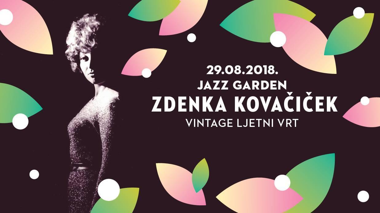 Besplatan koncert Zdenke Kovačiček u sklopu programa Jazz Garden