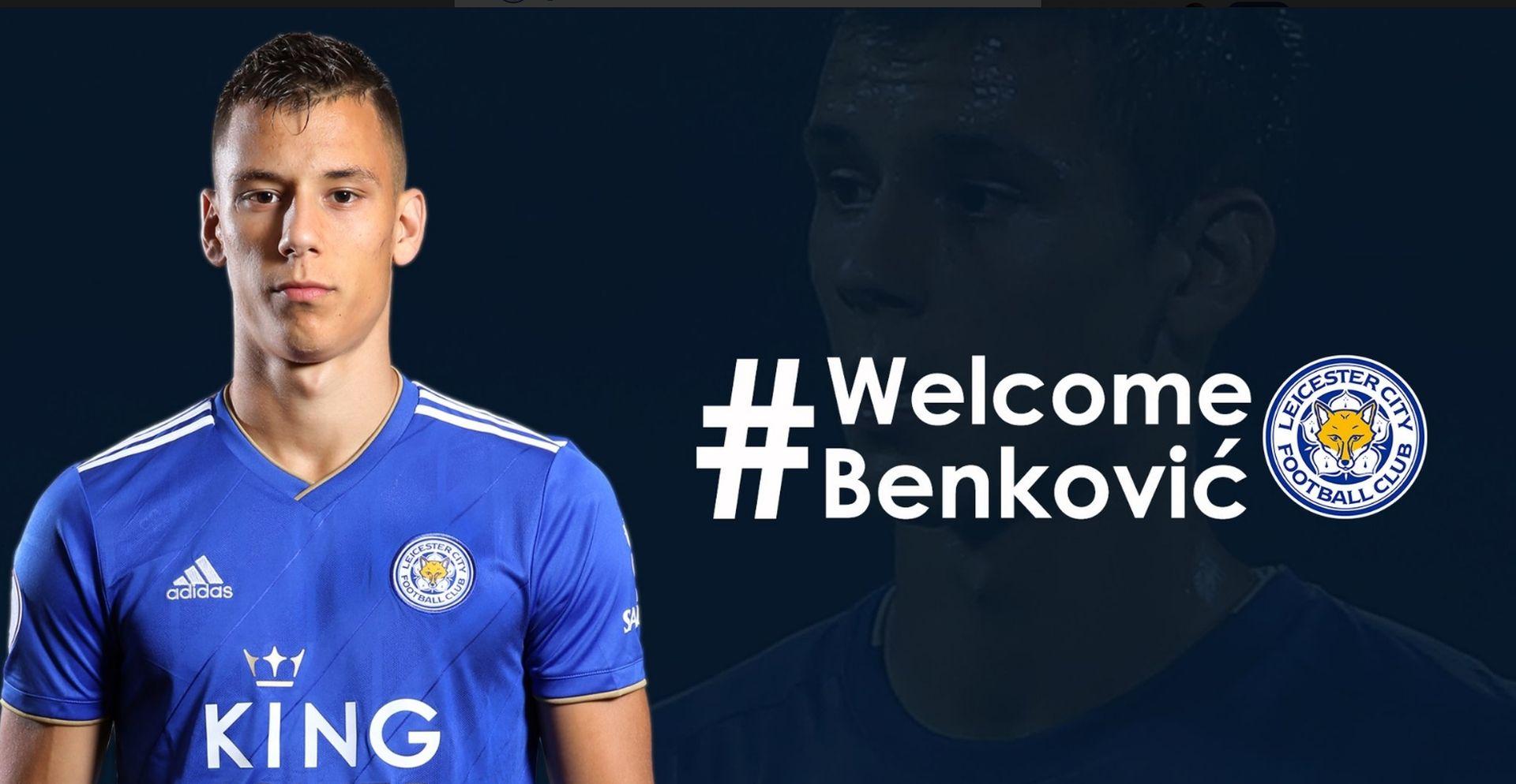 """Benković predstavljen u Leicesteru: """"Dat ću svoje srce za ovaj klub"""""""