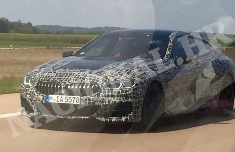 EKSKLUZIVNO: BMW 8 Gran Coupe uhvaćen u testiranju