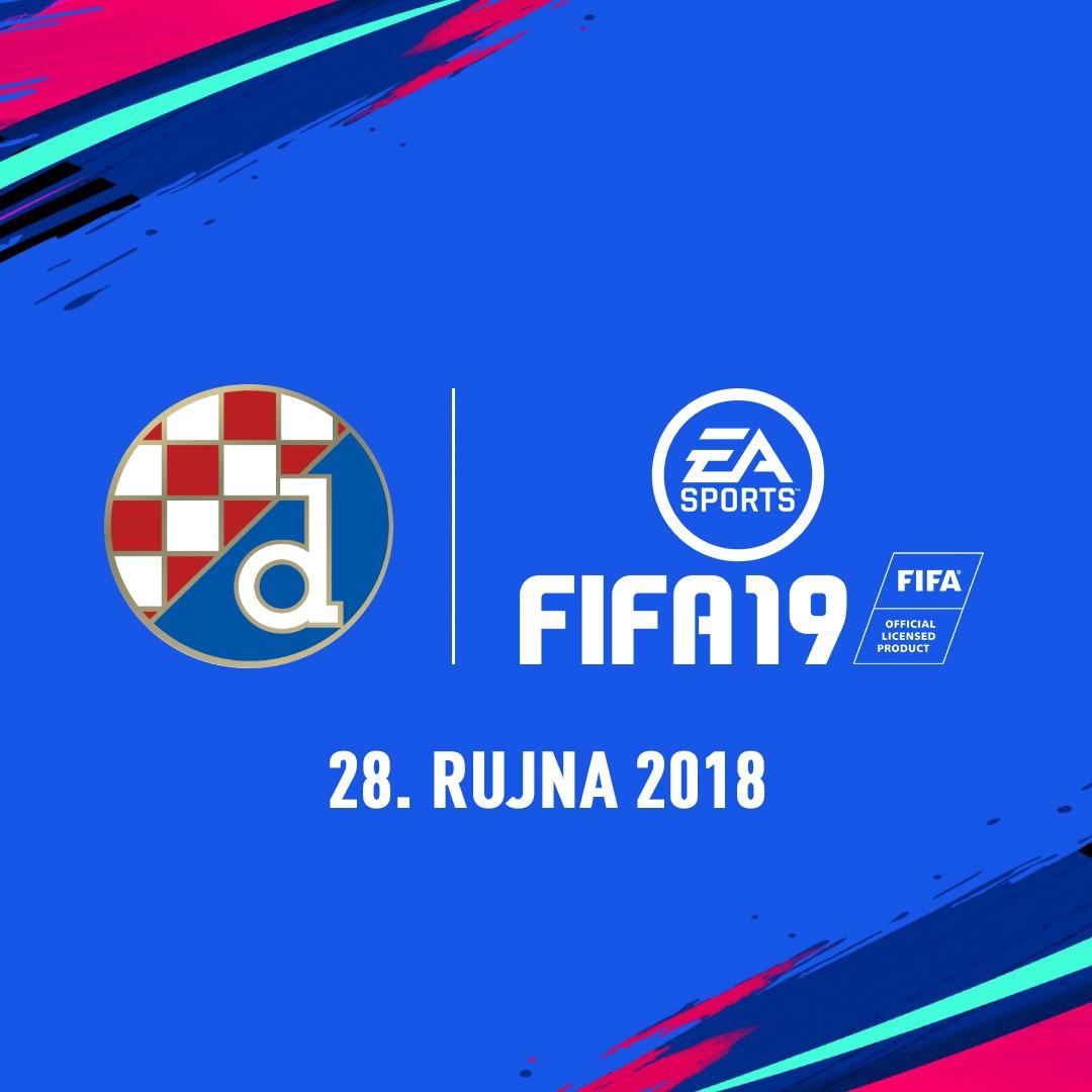 Dinamo među licenciranim klubovima u najnovijem izdanju FIFA 19.