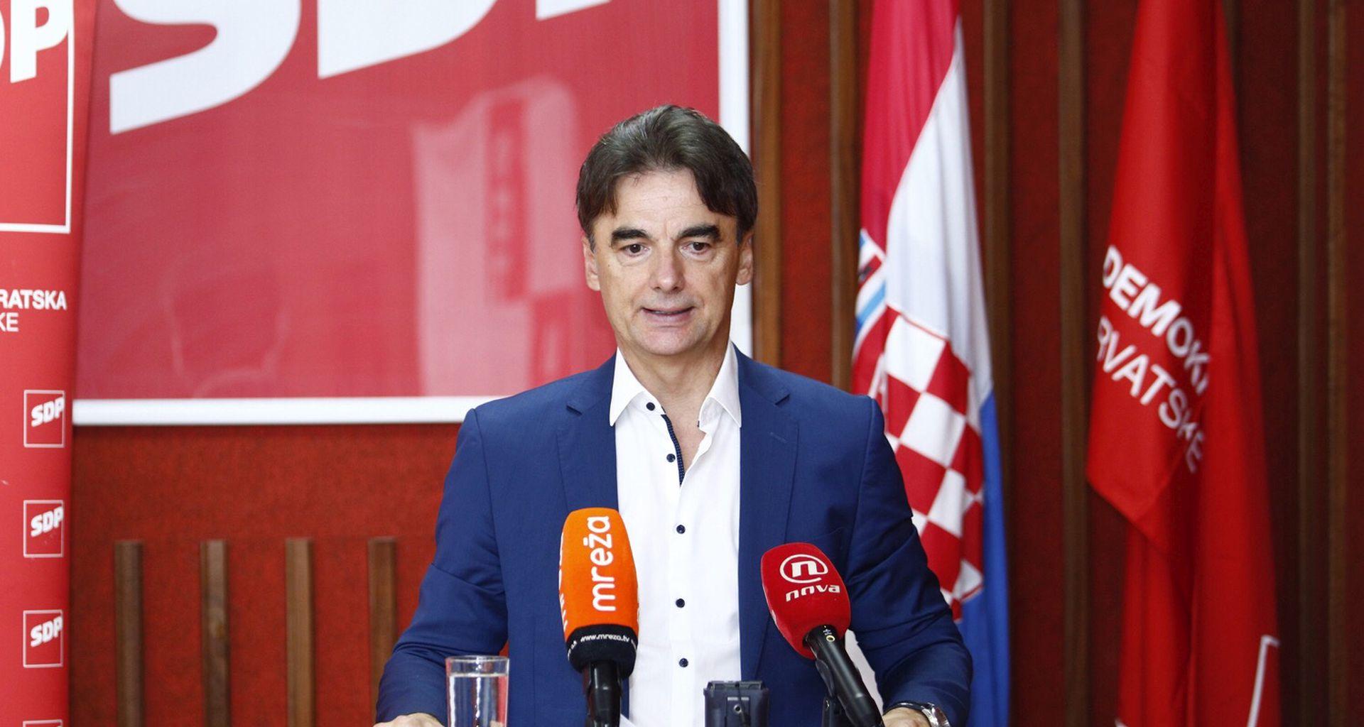 """GRČIĆ: """"U prvih sedam dana nove SDP-ove vlade donijet ćemo pet ključnih mjera"""""""