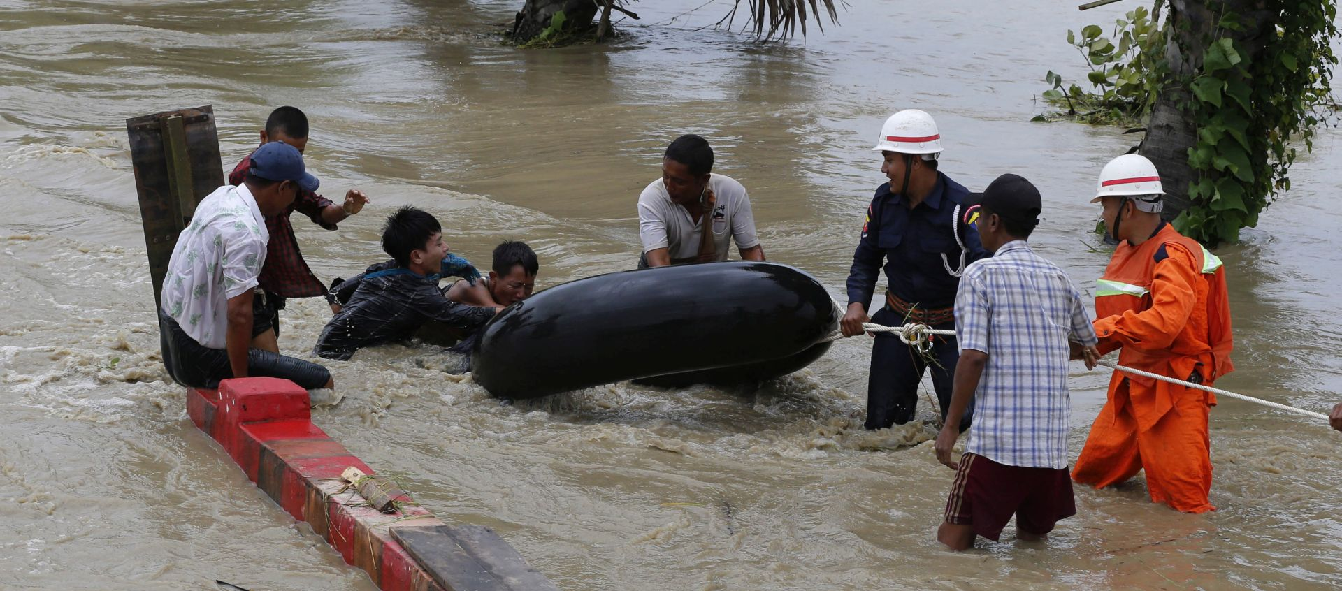 VIDEO: Situacija mirna nakon puknuća brane u Mianmaru