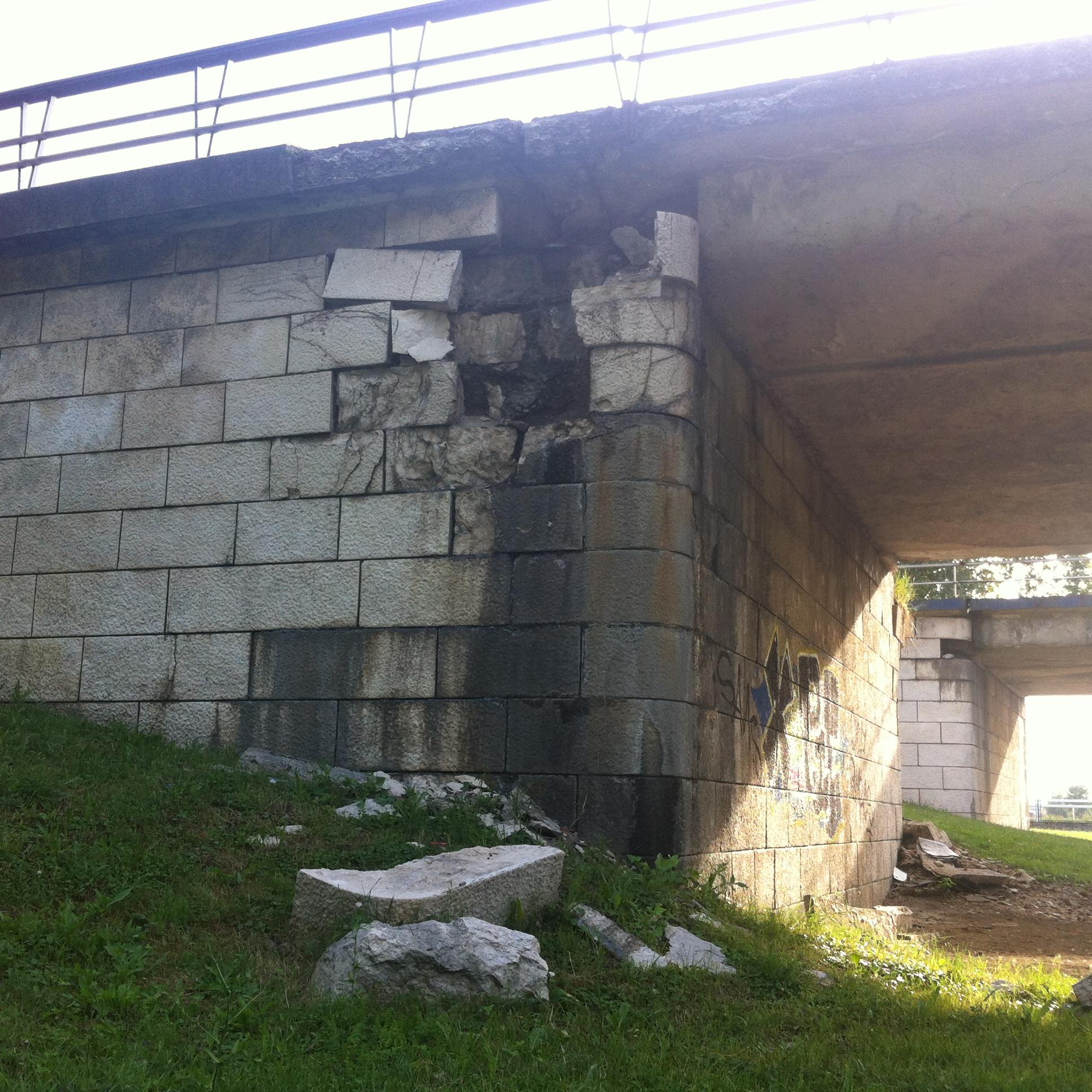 UNATOČ INSPEKCIJI Još nema radova na opasnom Mostu slobode